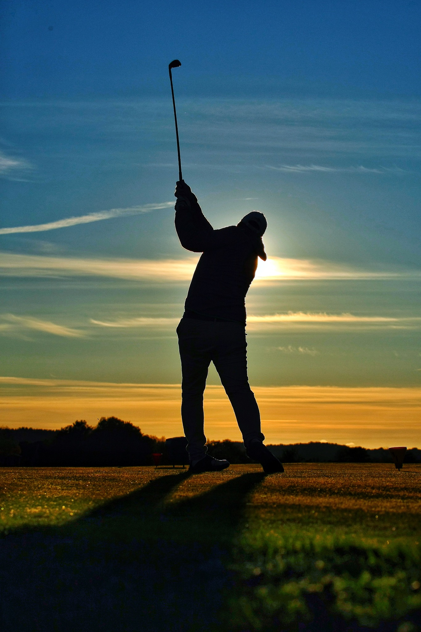 Sunset golf by Anders