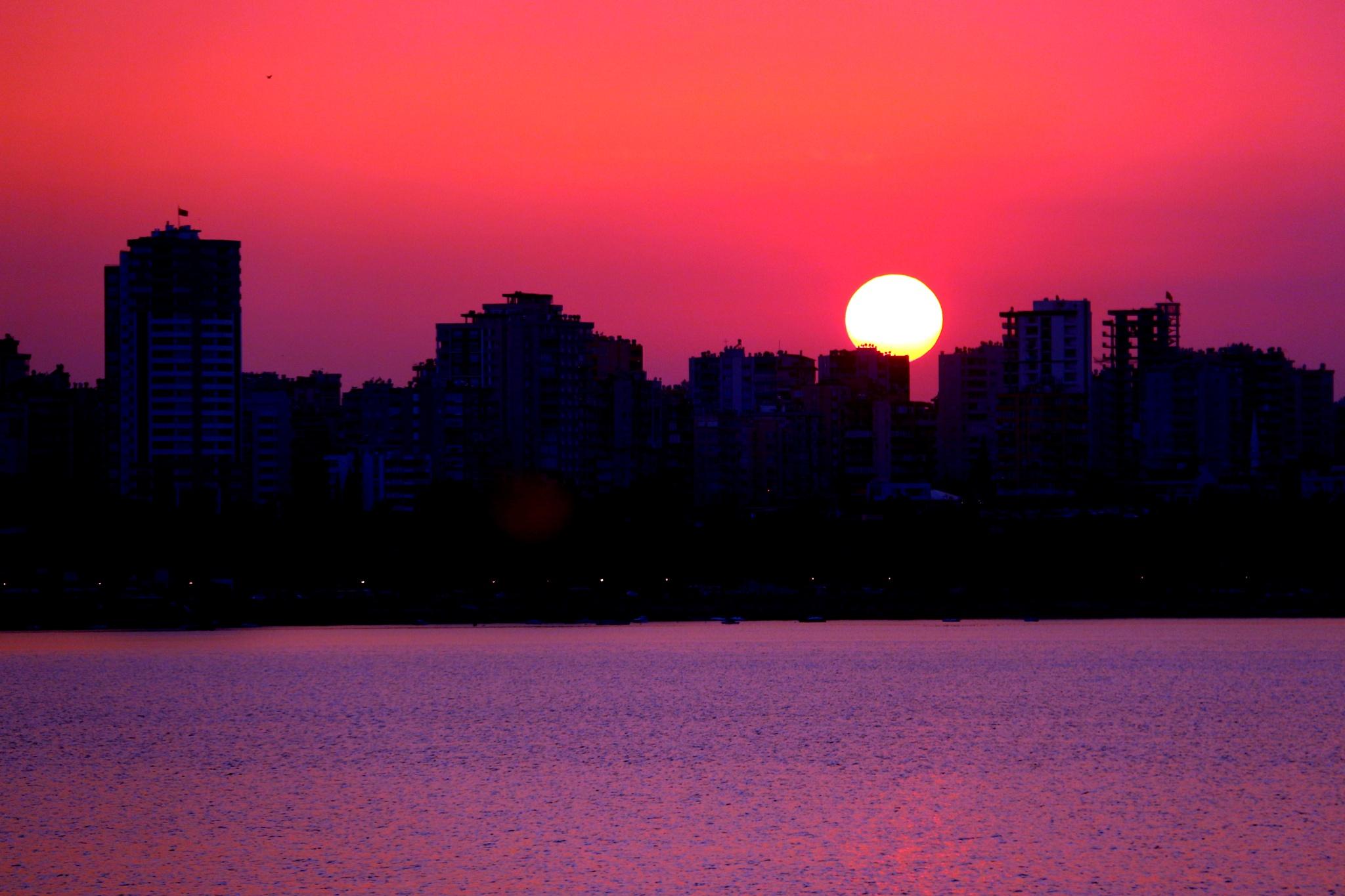 Sunset.... by Bedirhan Küpeli