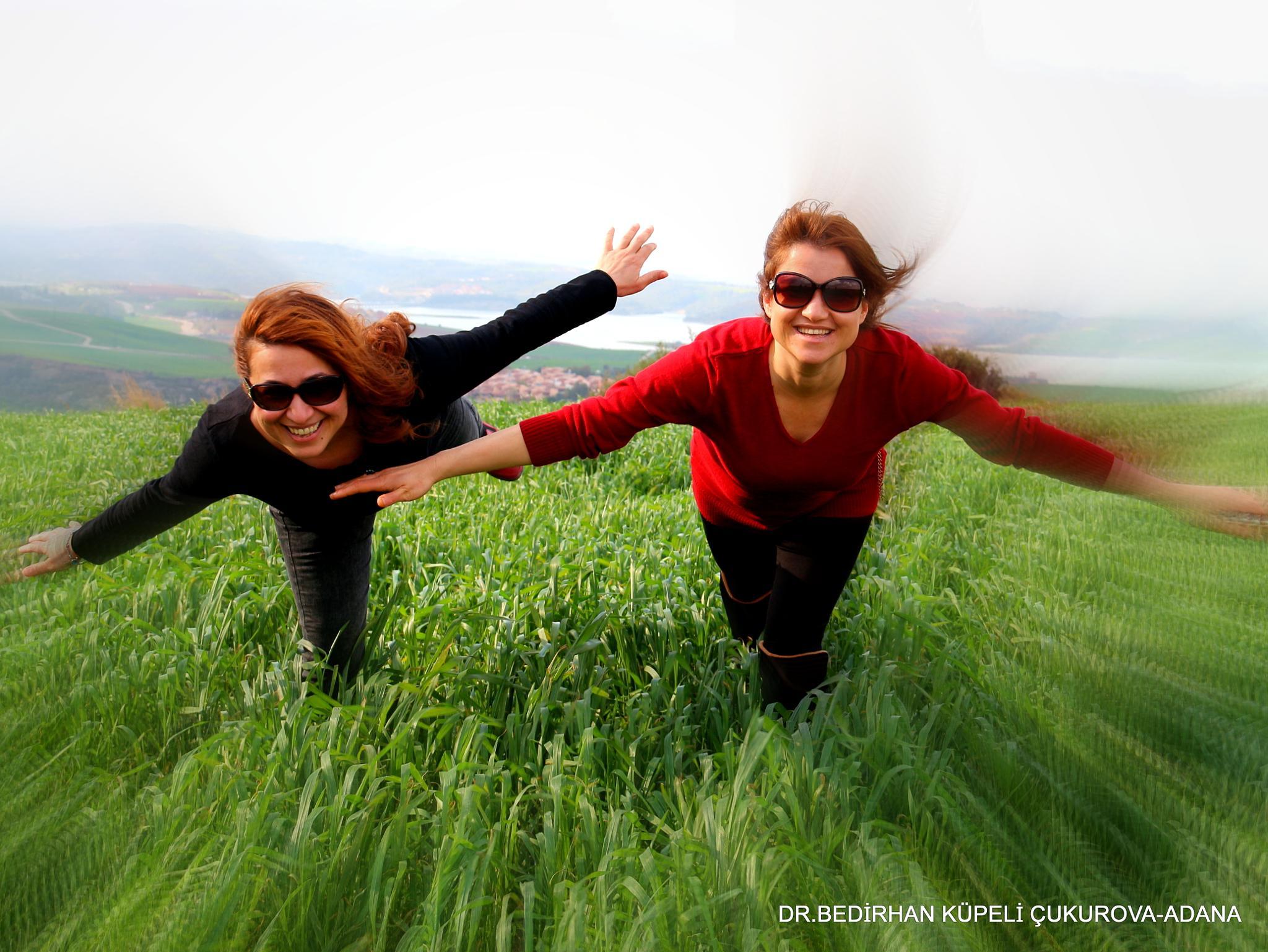 fly on the grass by Bedirhan Küpeli