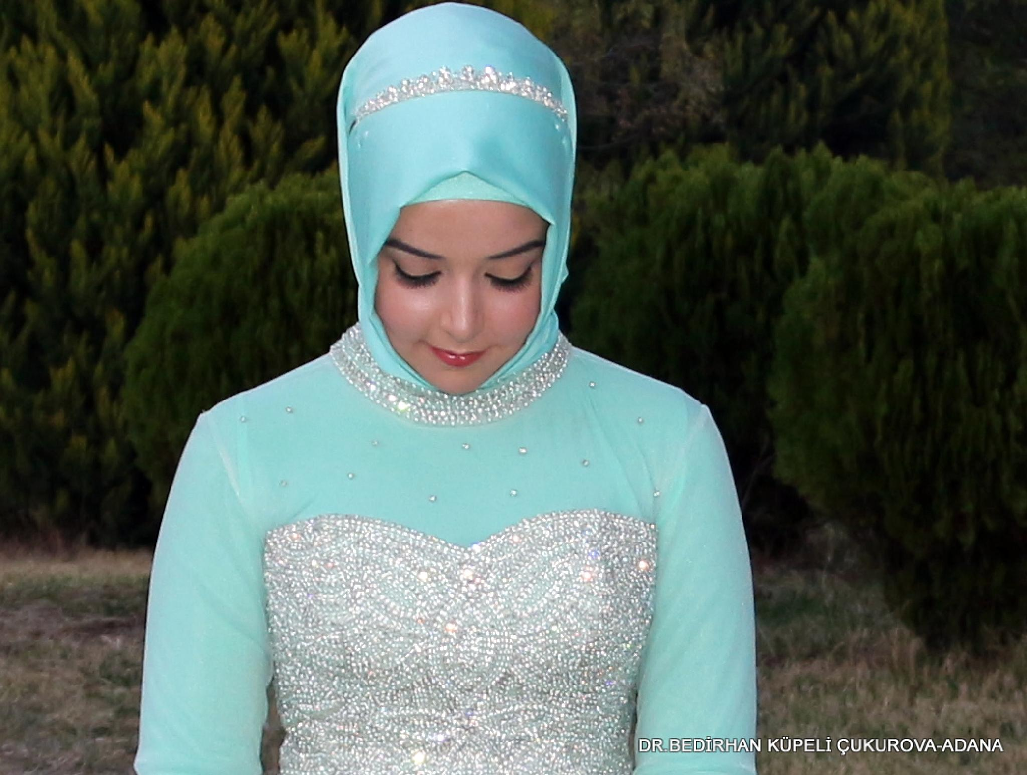 blue bride by Bedirhan Küpeli