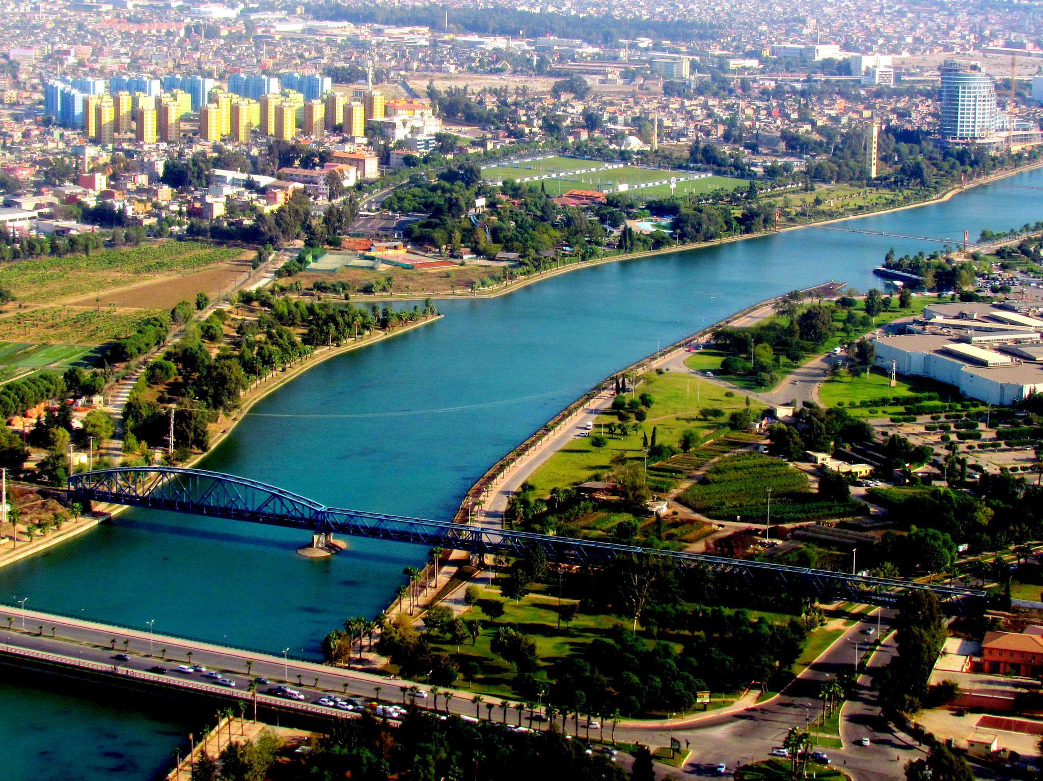 Landscape a section from Adana by Bedirhan Küpeli