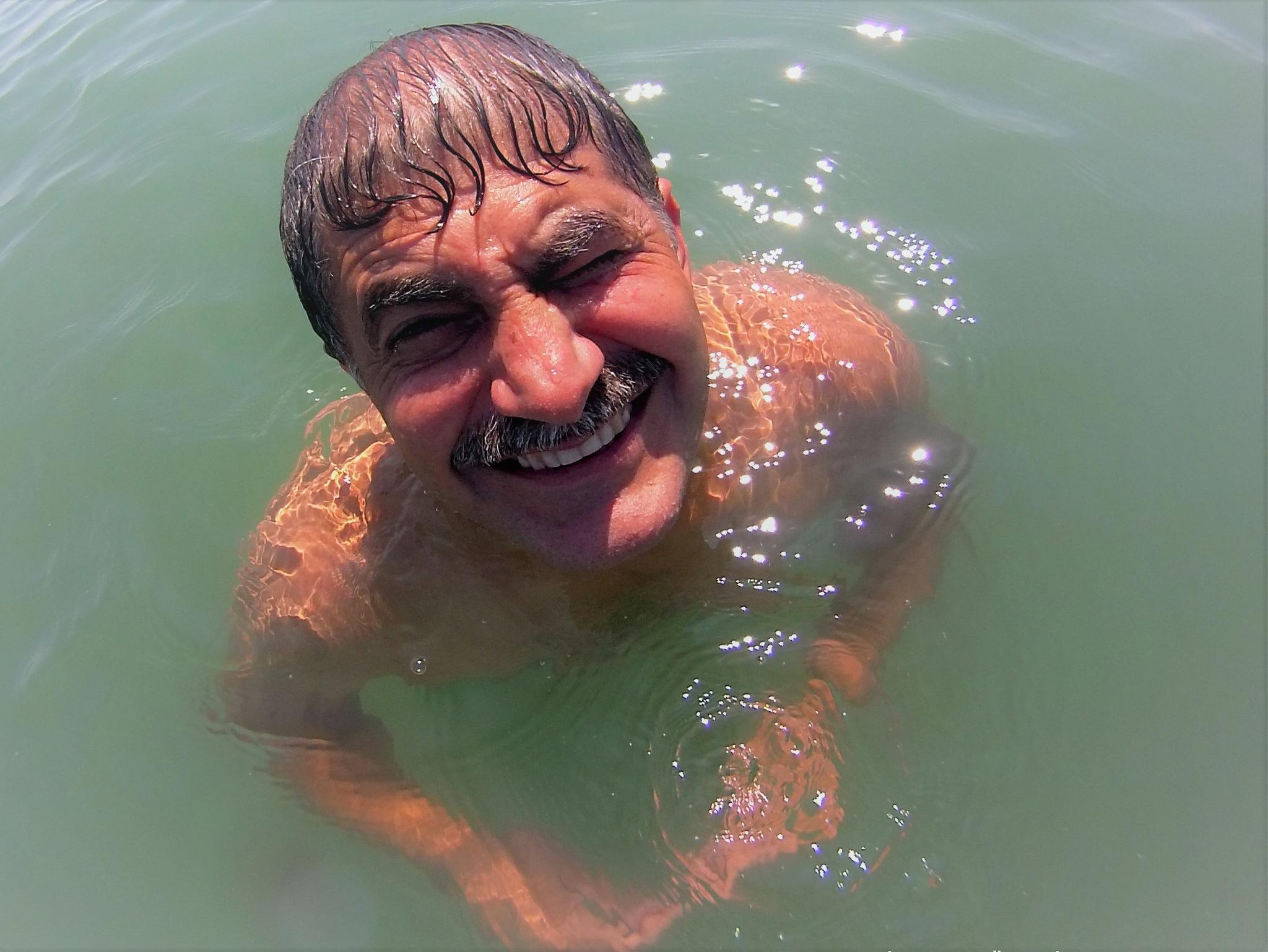7141...my eyes burned from the sea water... by Bedirhan Küpeli