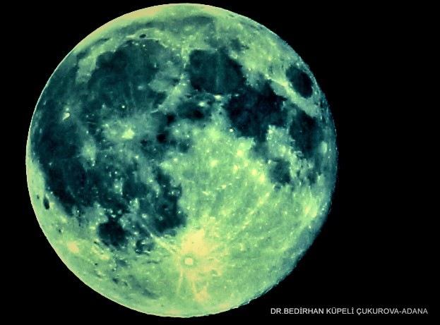 6865... Blue Moon... by Bedirhan Küpeli