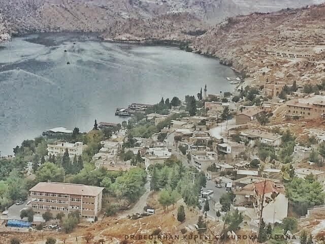 View of the Halfeti... by Bedirhan Küpeli