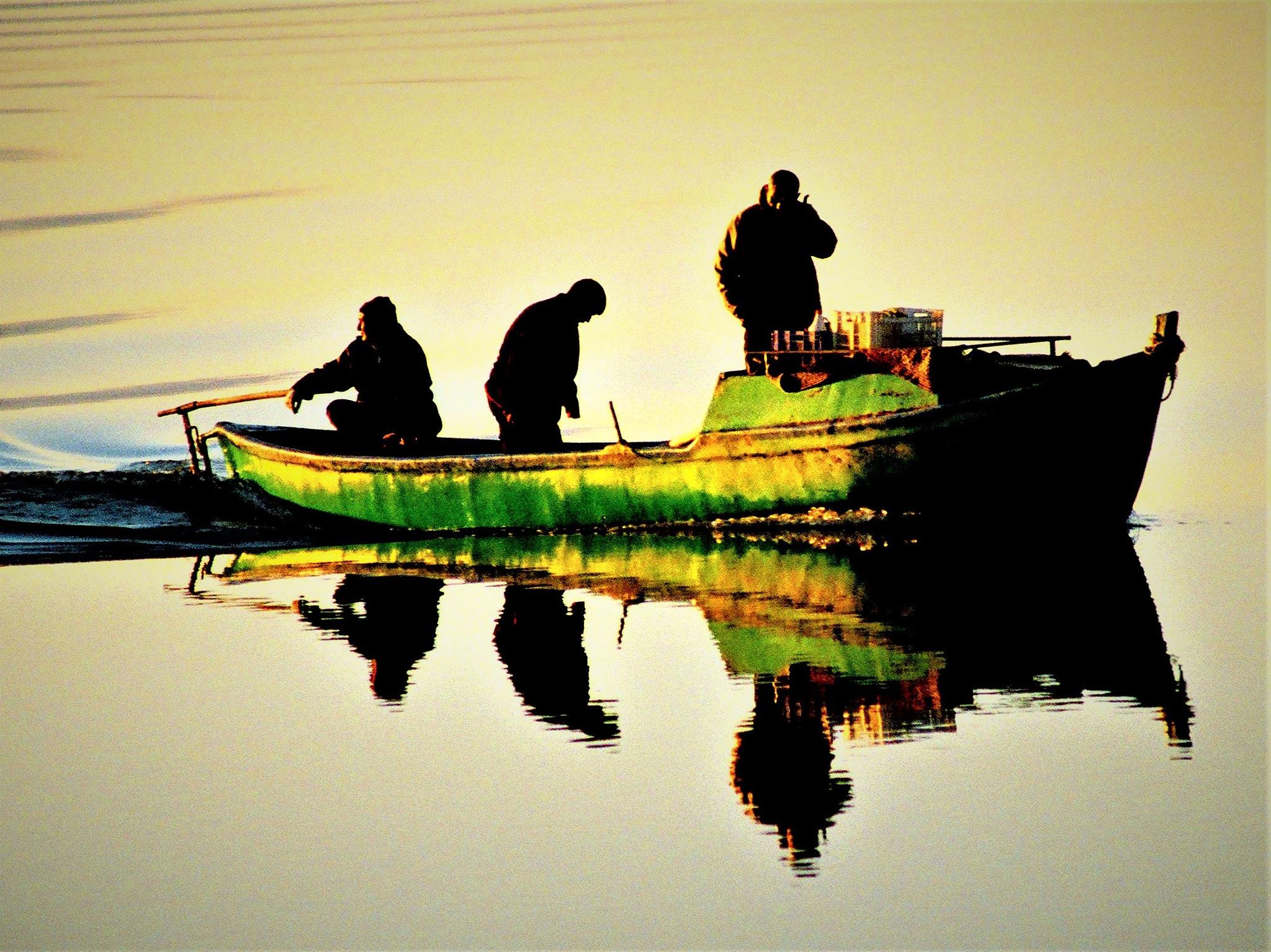 6869...Lake and reflection... by Bedirhan Küpeli