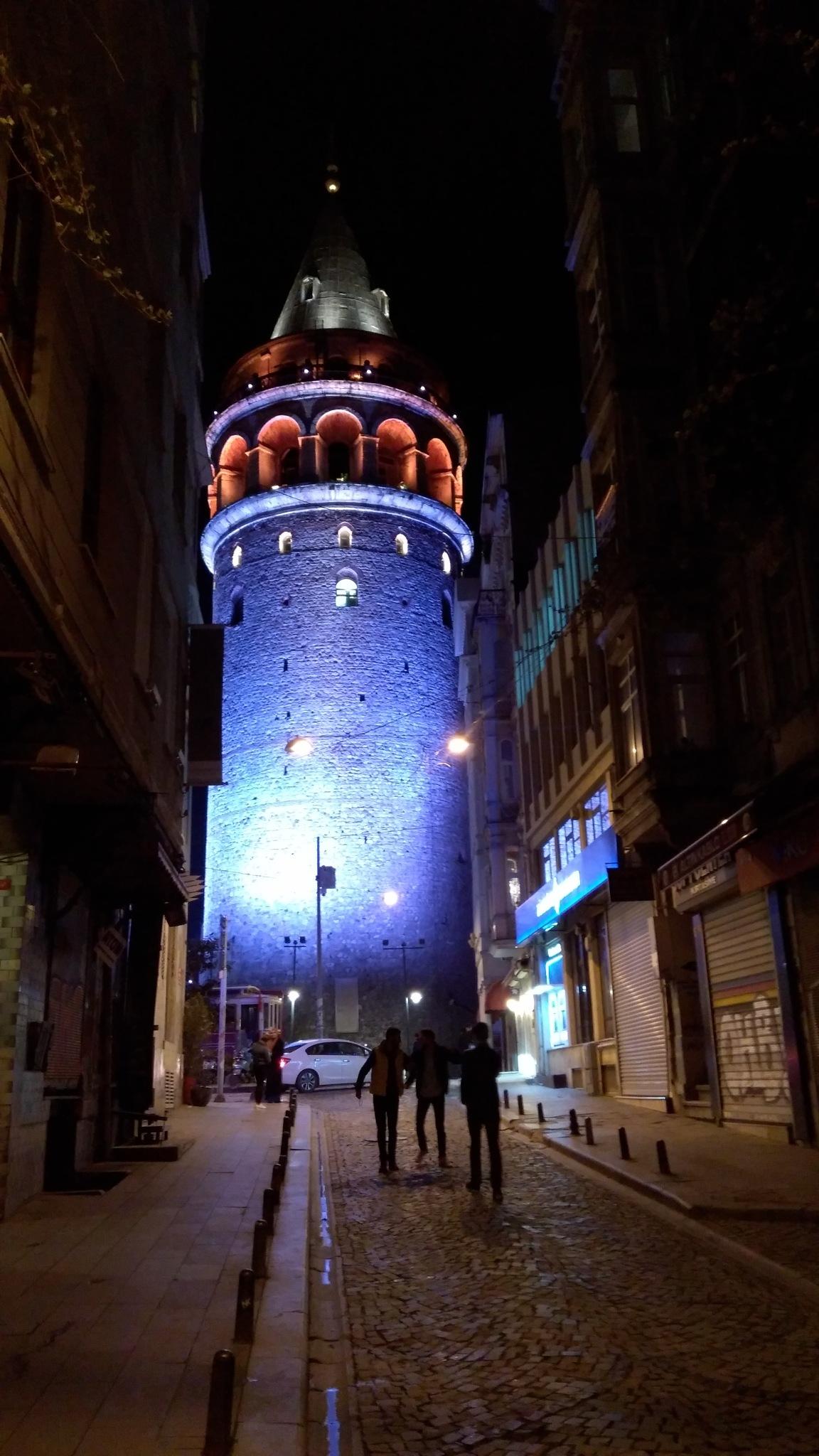 4637... Galata Tower... by Bedirhan Küpeli