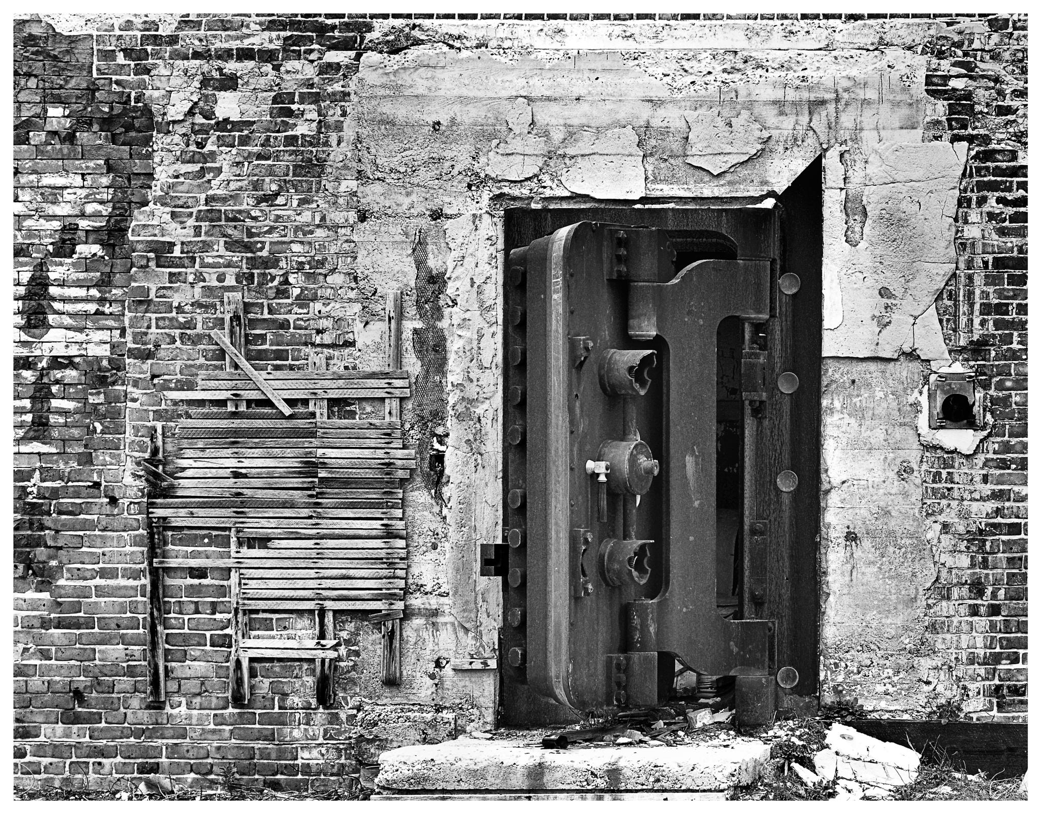 Bank Vault by Maxie