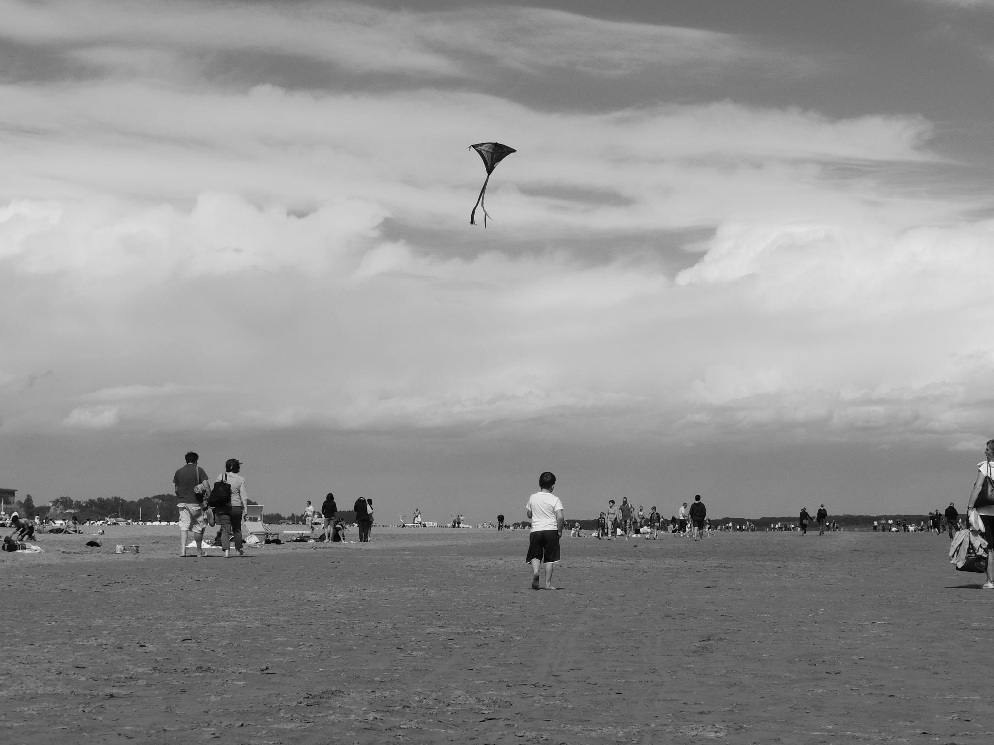 Kite  by Damiano Mozzato