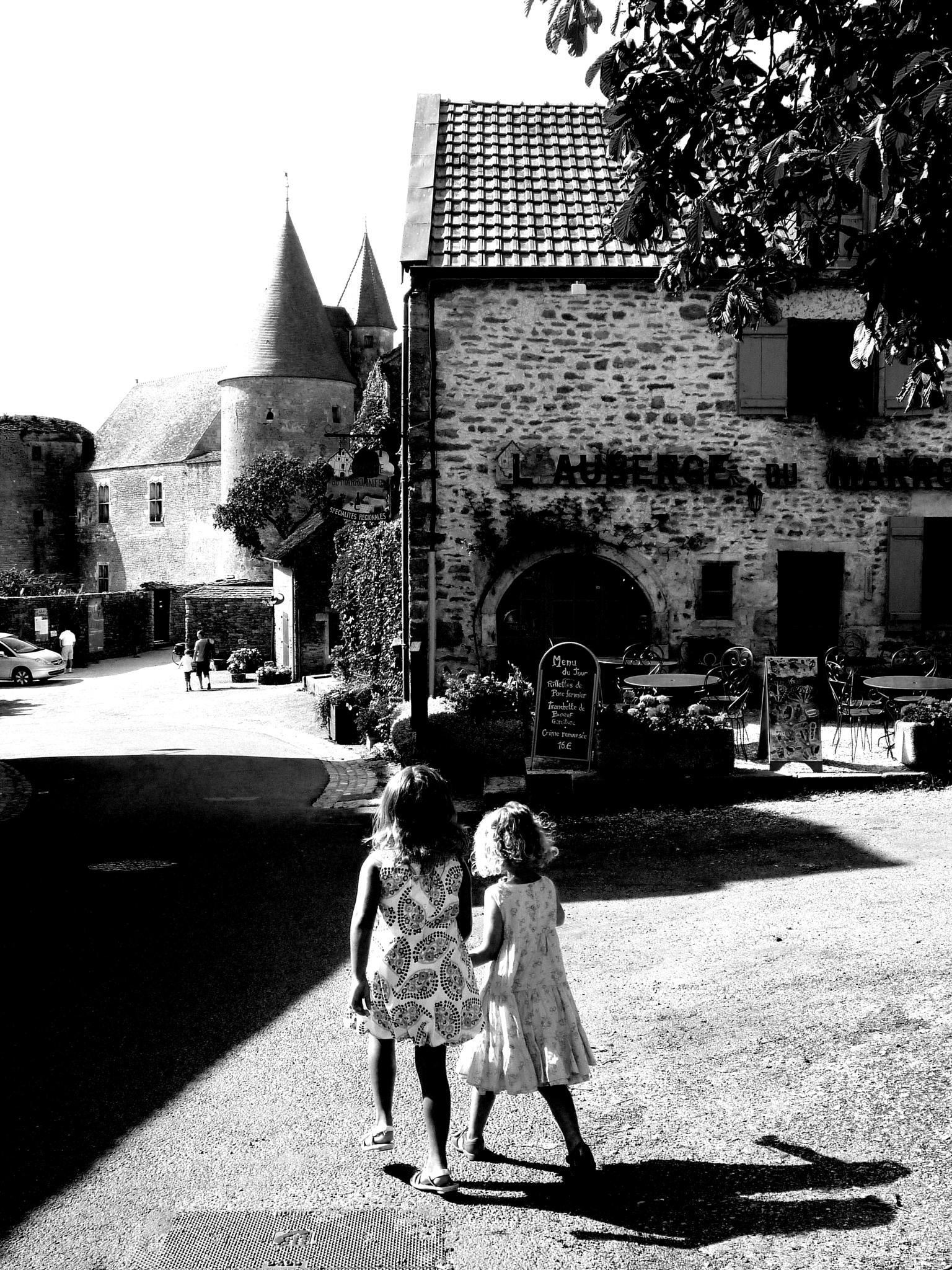 Photo in Street Photography #walk #child #baby #village #france #bourgogne #street