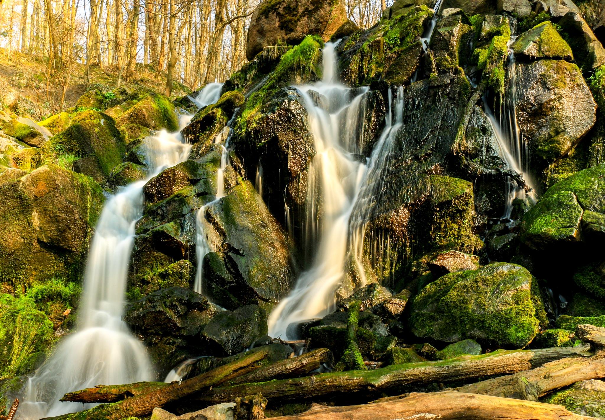 Small Waterfall by Karsten Larsen