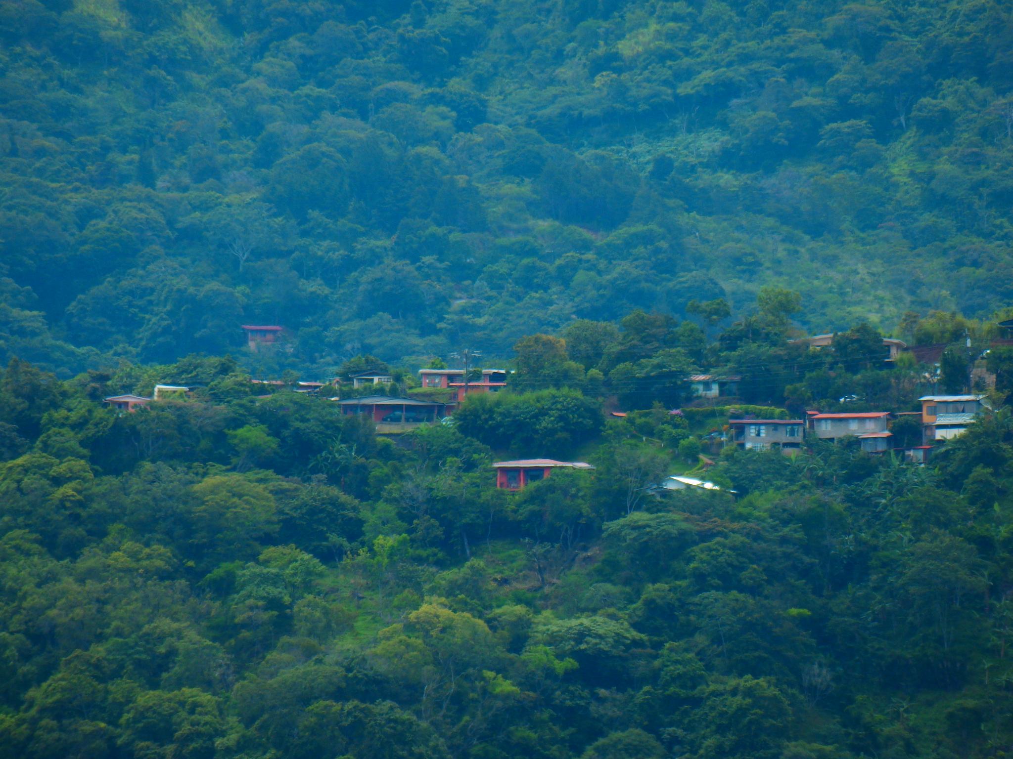 Pueblo entre árboles by KAMAQUECHI