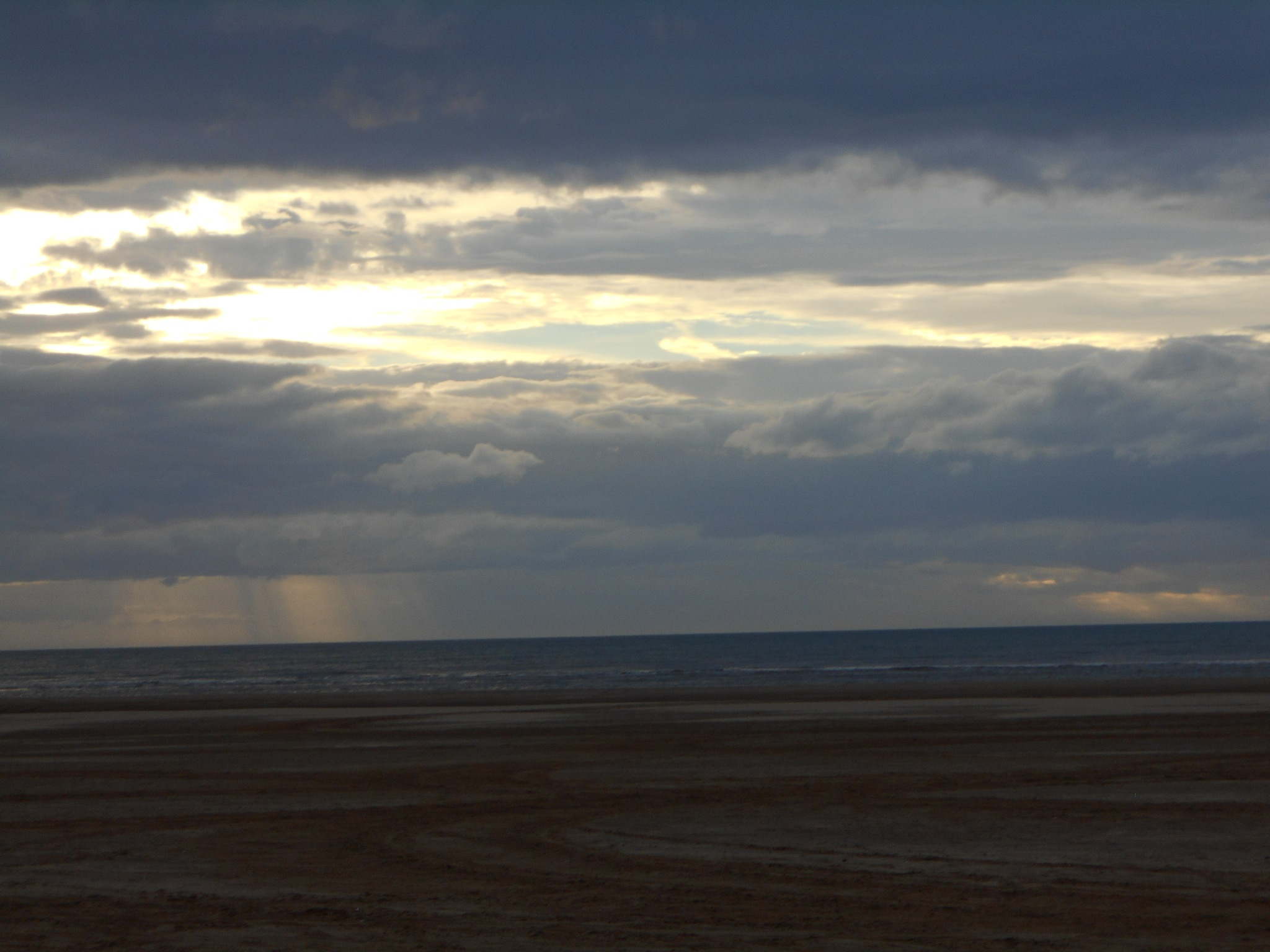 Almost sunset over the beach. by bestwick.annette