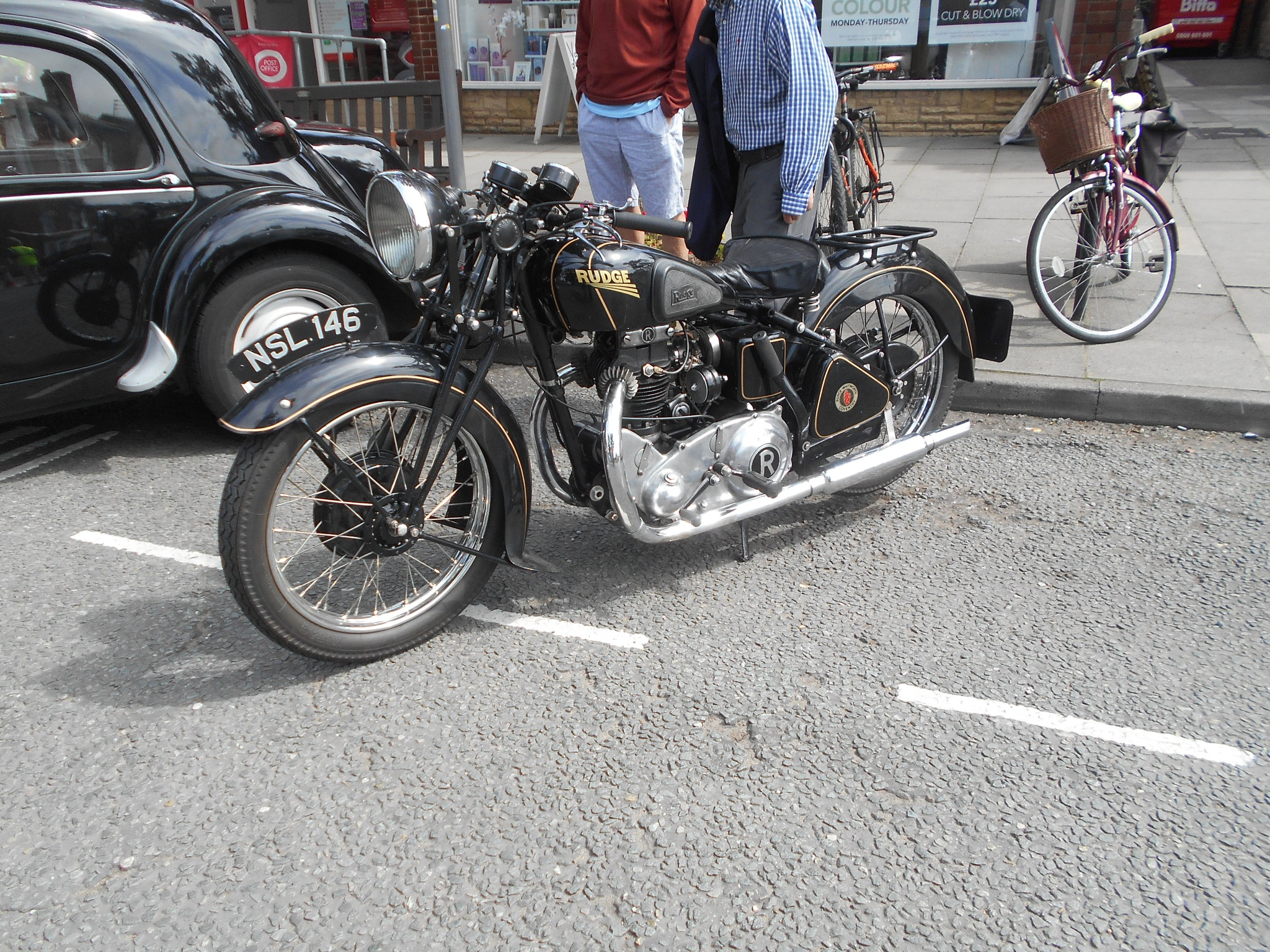 Older bikes are the best. by bestwick.annette