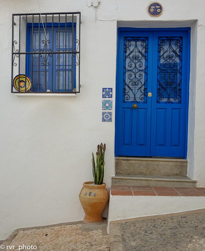 Blue Door by Rafael