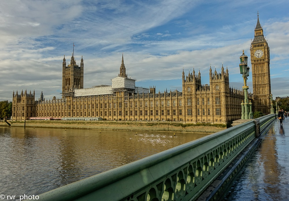 Big Ben & Parliament Houses of London by Rafael
