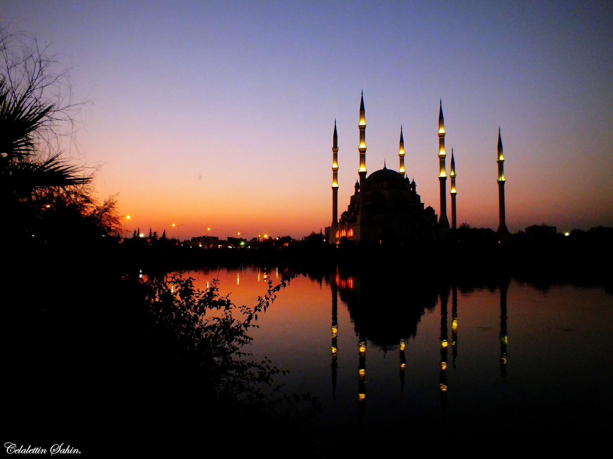 Sabanci mosque/Adana/TURKEY by Celalettin Şahin