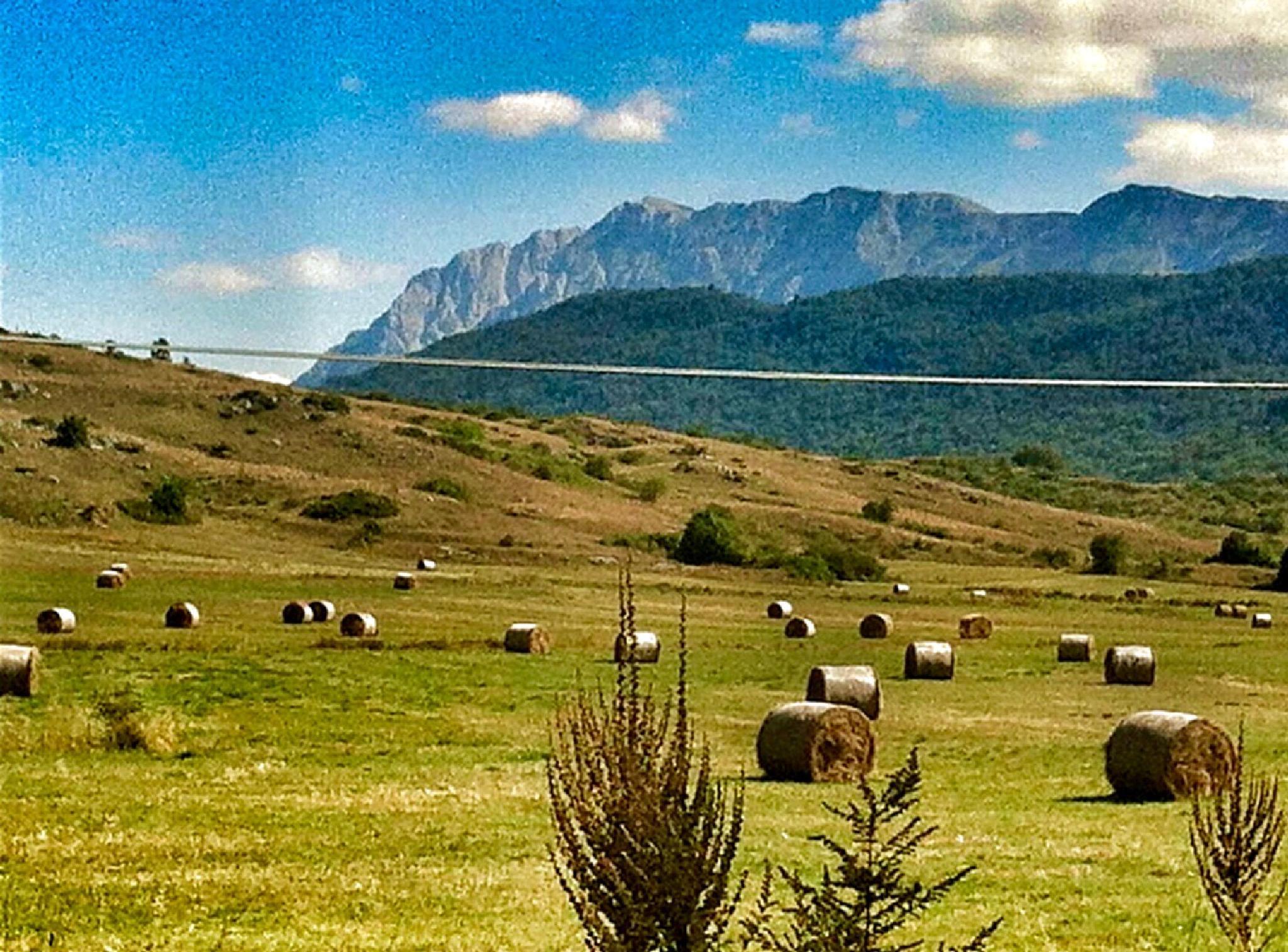 Landscape of Abruzzo by mirella.barteloni