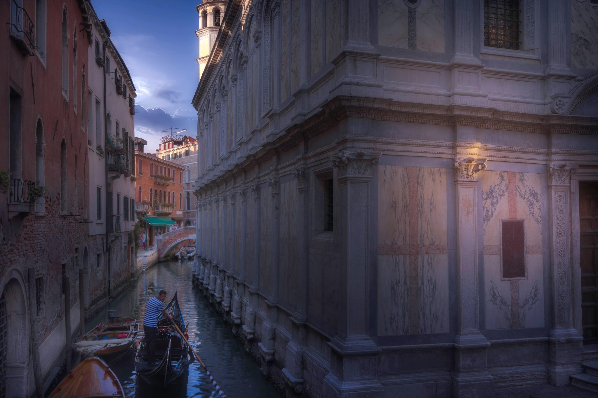 Venetian paths 100(Santa Maria dei Miracoli) by mauriziofecchio