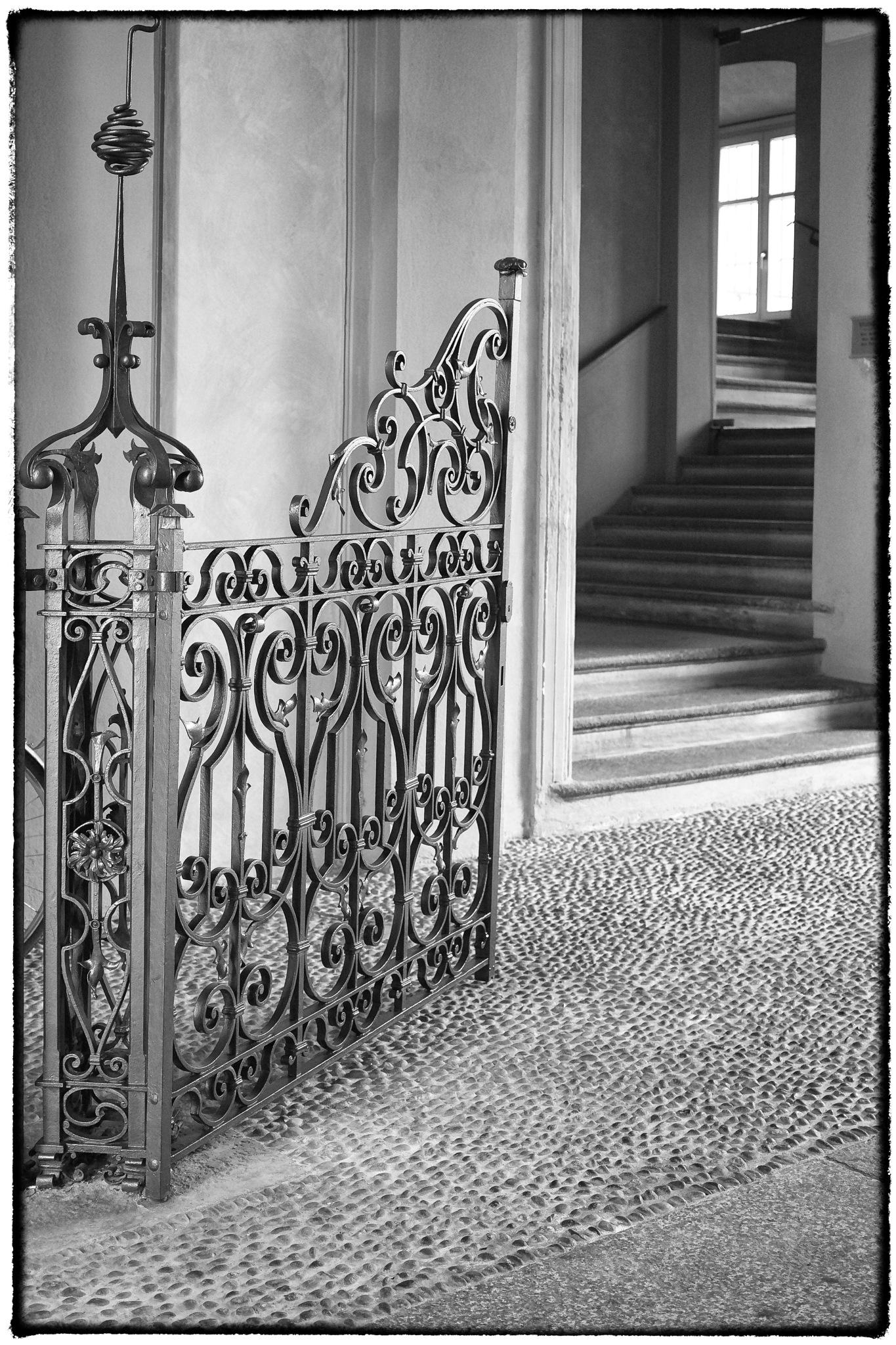 cancello in ferro battuto by bcorech