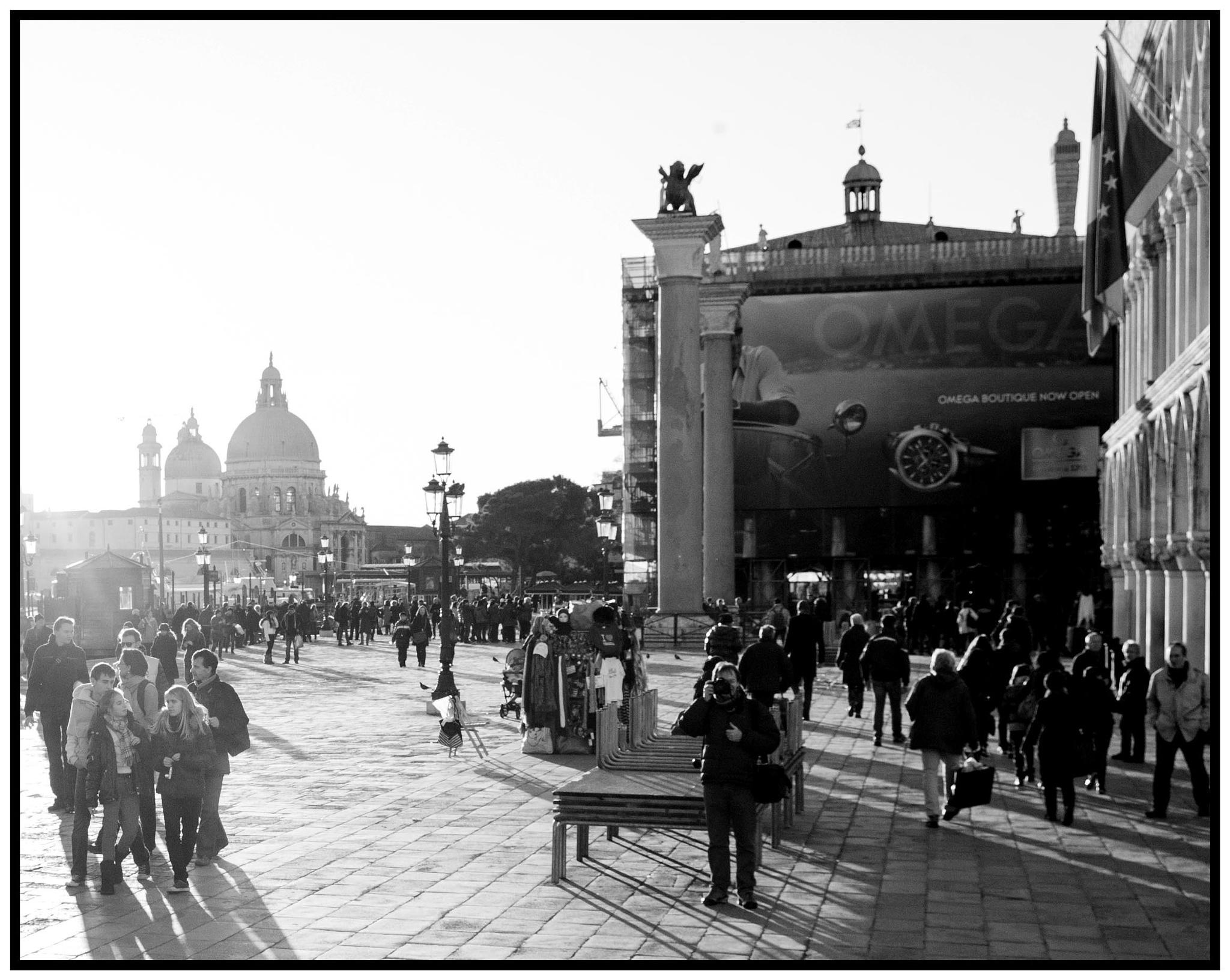 venezia controluce in piazza san marco by bcorech