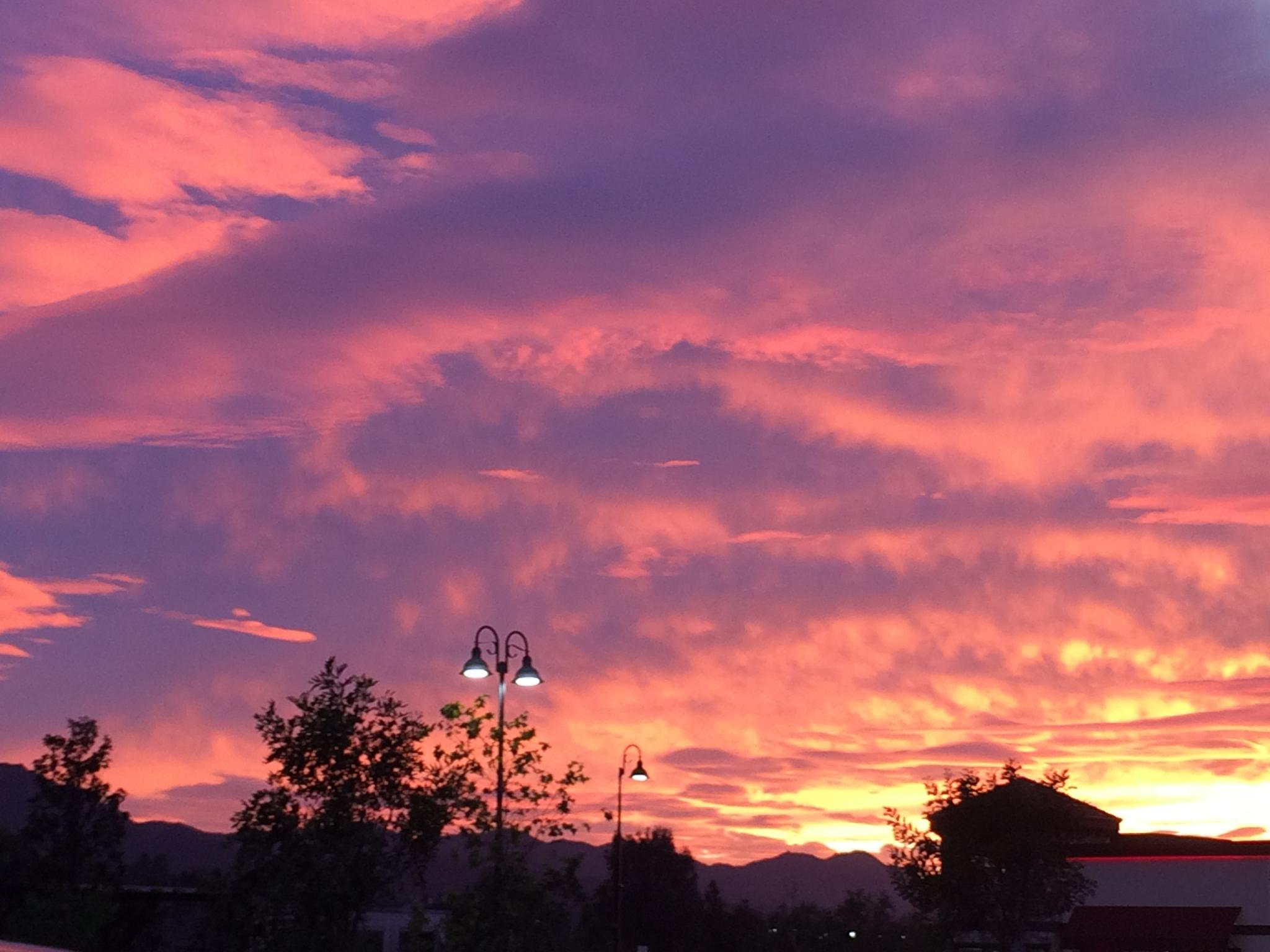 sunset by Anoosh