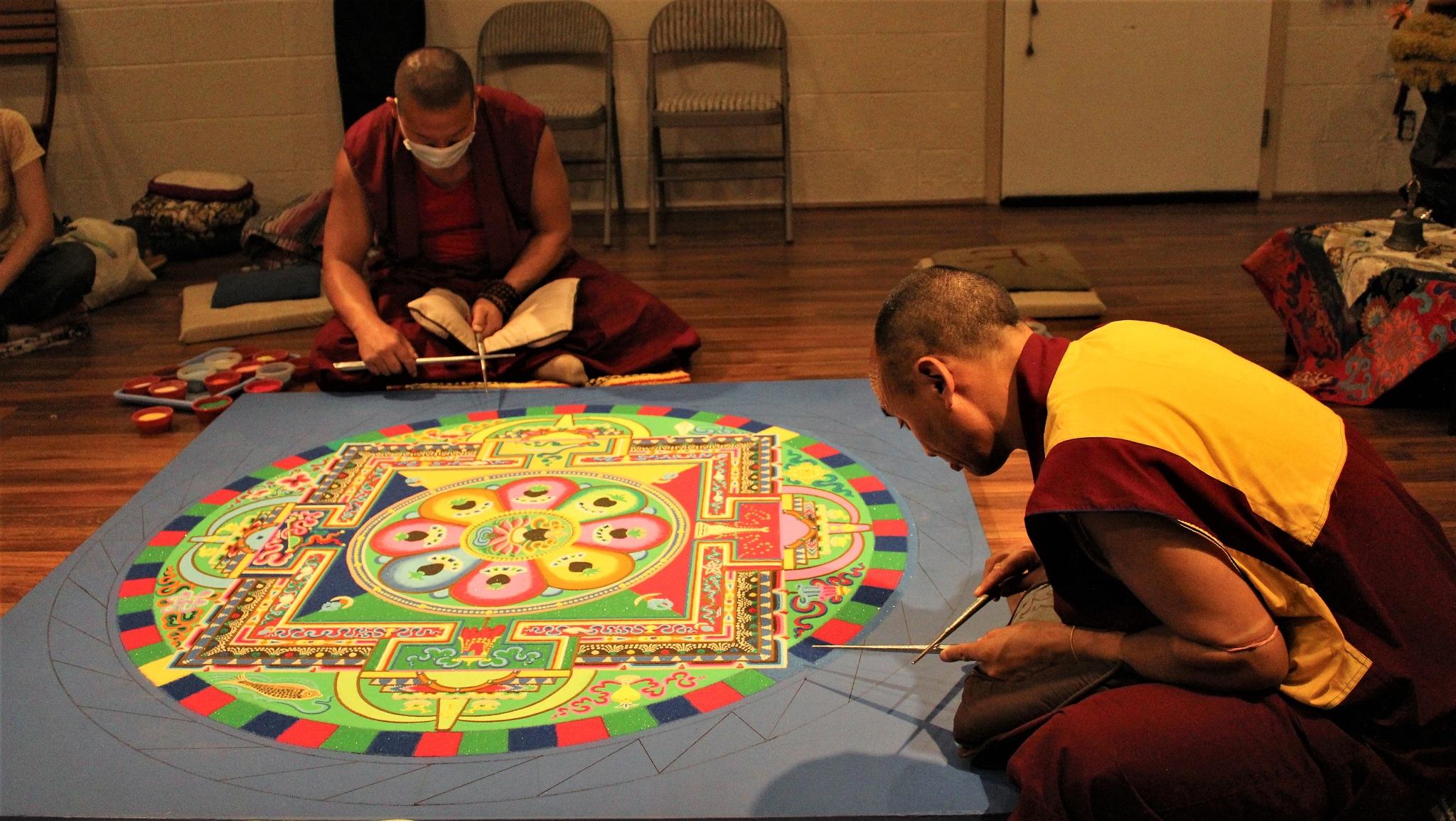 Mandala Making by T.Neil Walker