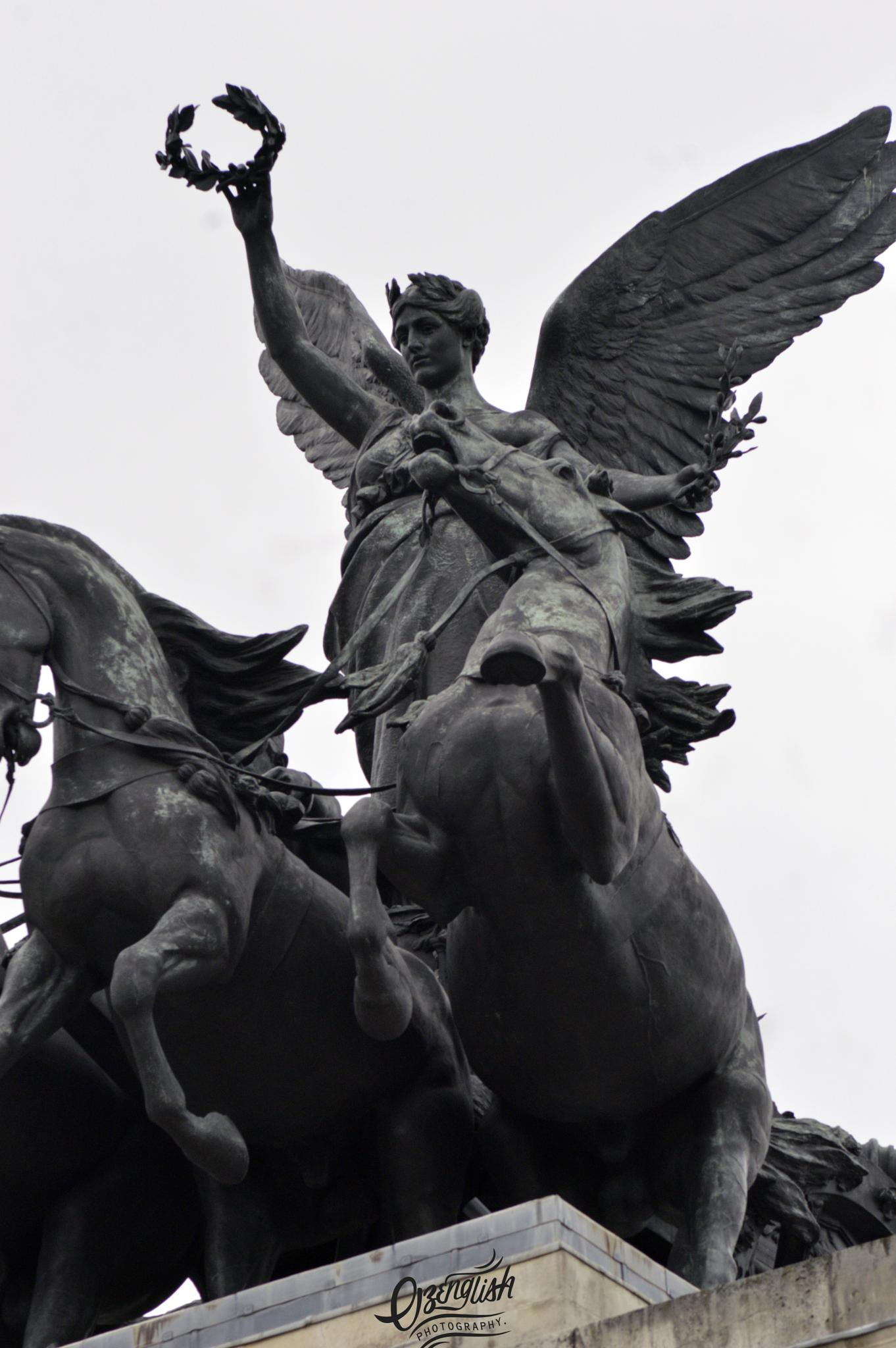 Nike And Part Of The Quadriga by Jim Smith
