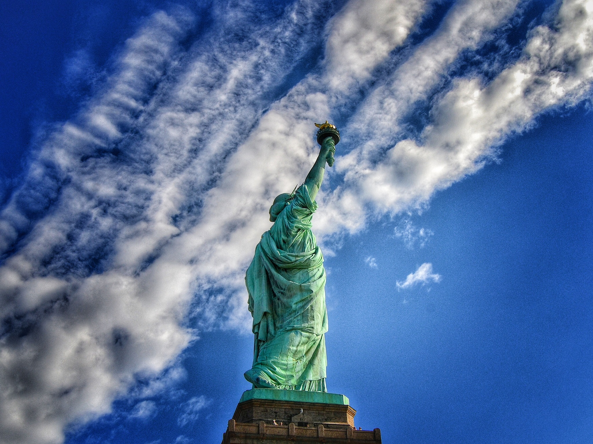 The Statue of Liberty by Christian Jerhov