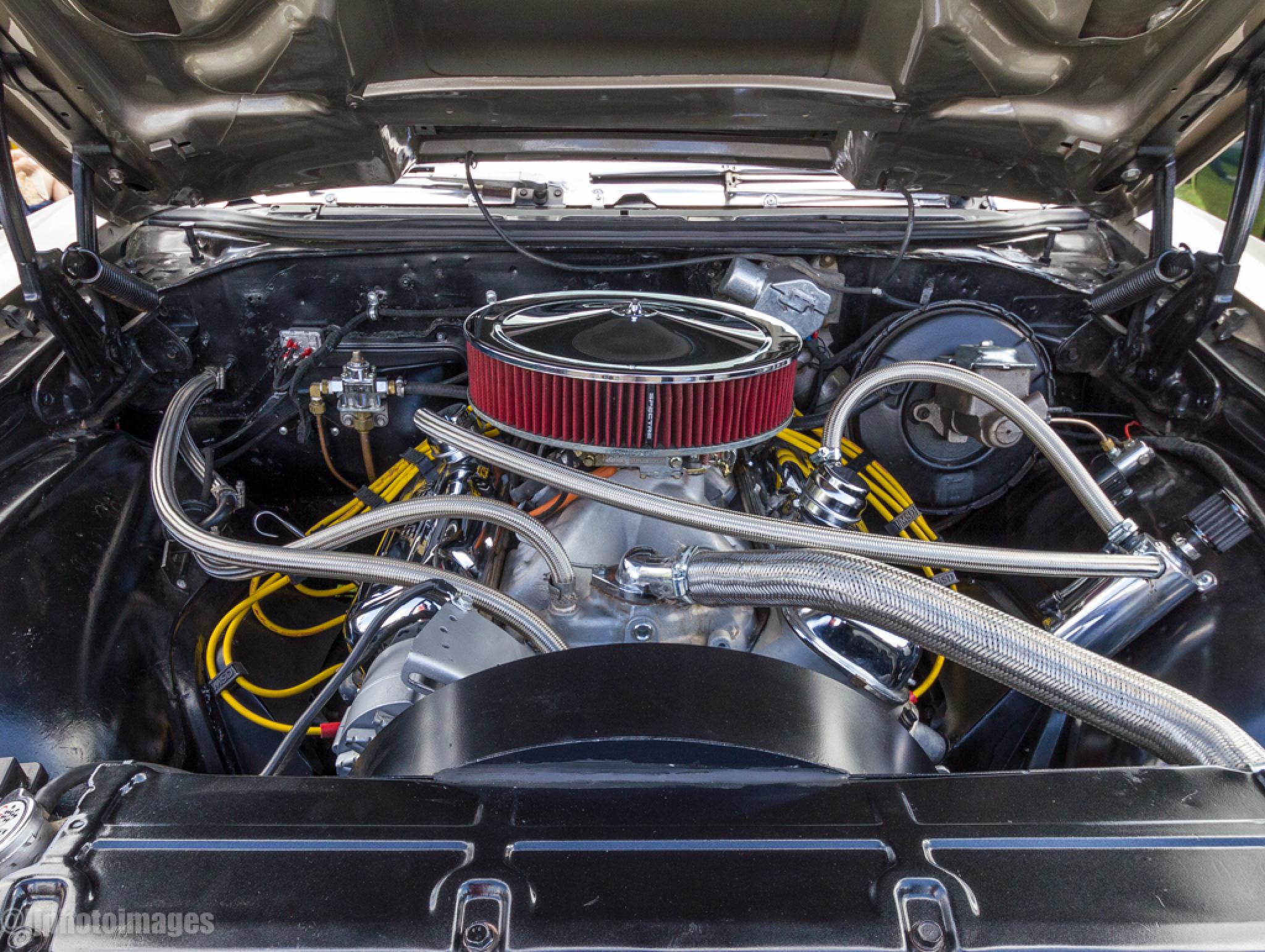 Chevy Chevelle SS Engine by Classic Cars & Motors