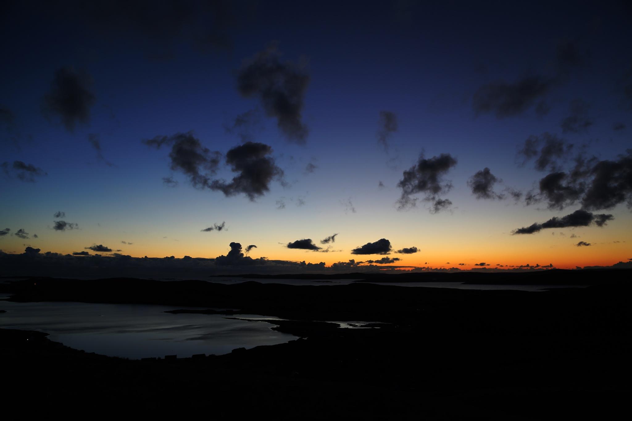 silhouette sky by gordon.j.drummond
