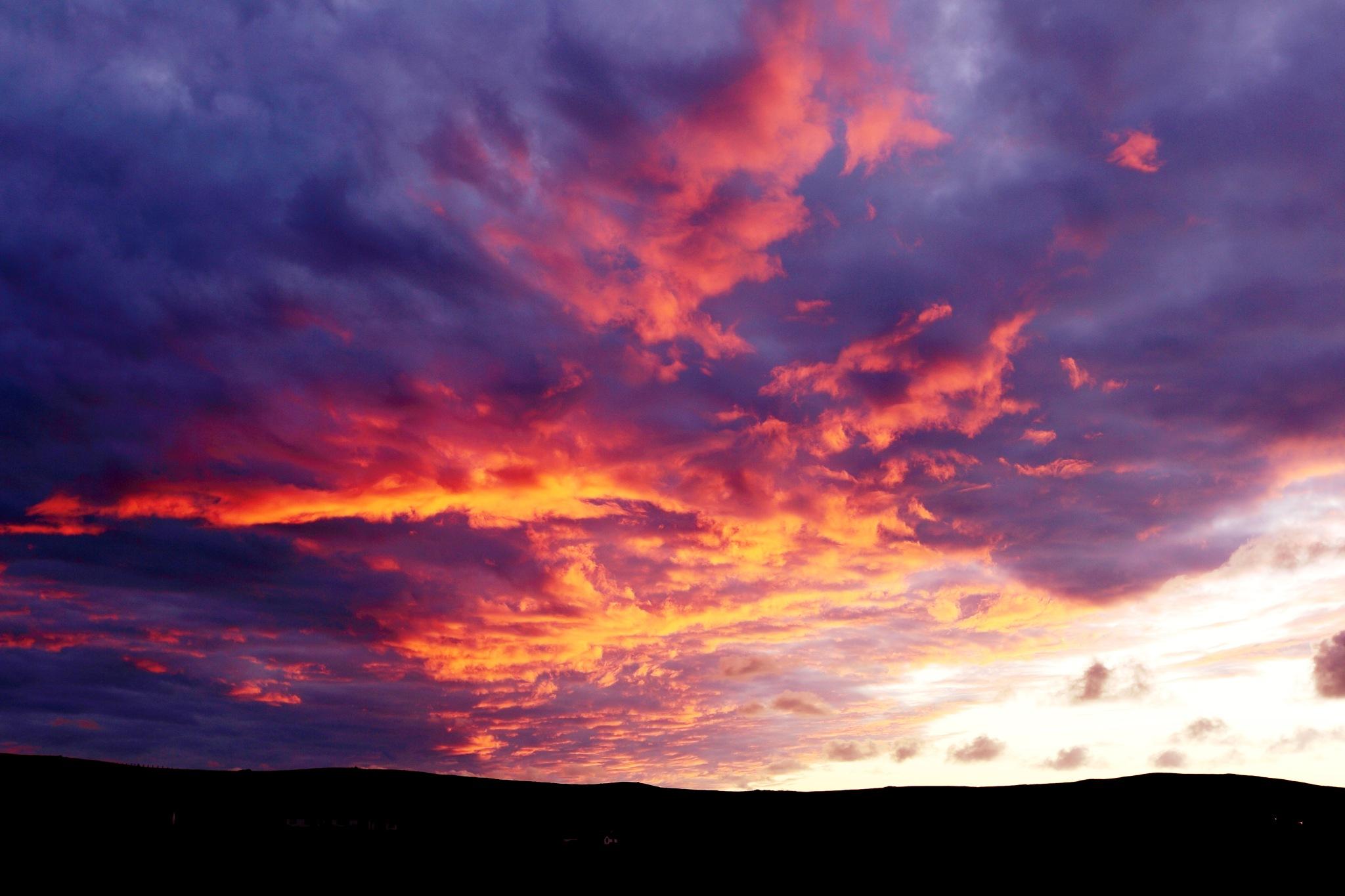 Biblical skies by gordon.j.drummond