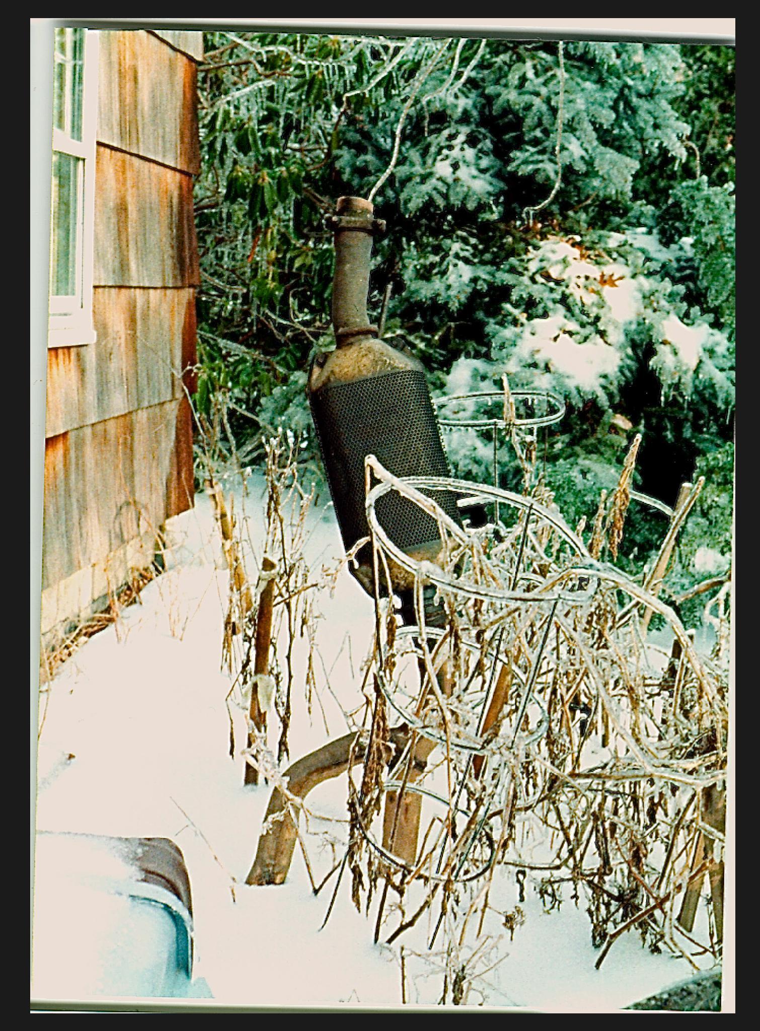 Frozen Exhaust Creature by John Tabacco