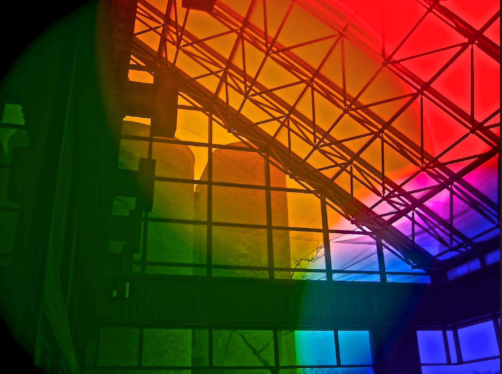Rainbow Architecture by John Tabacco