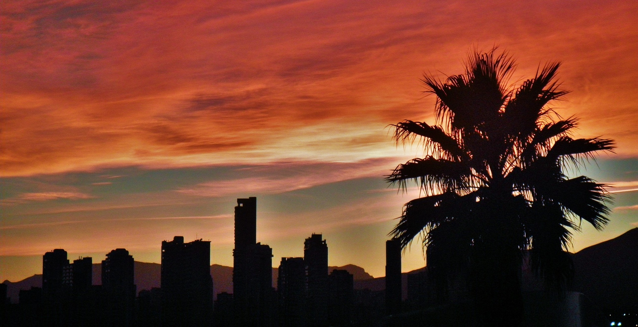 'Benidorm Sunset' by miket