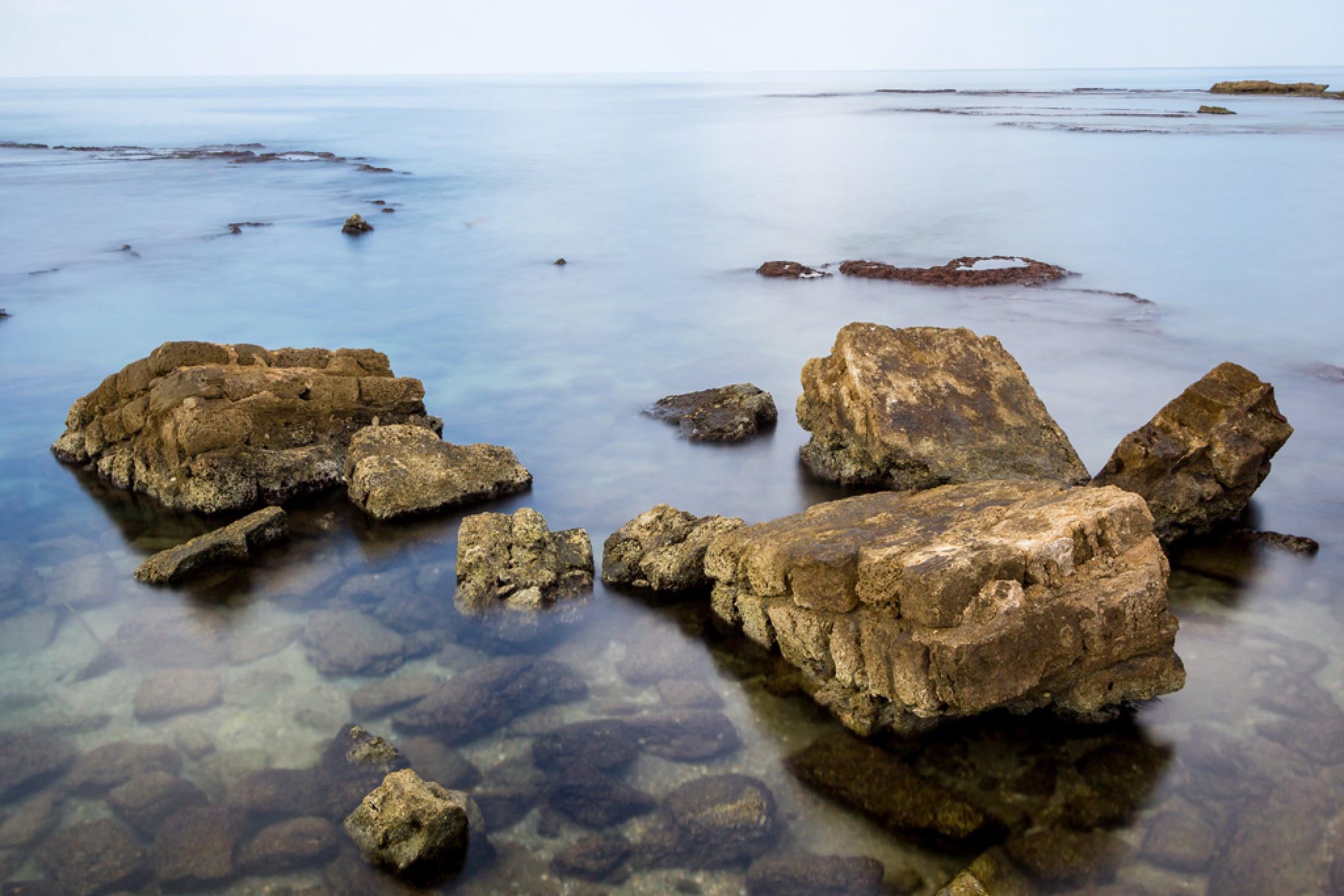 water and rocks by Nikolay Tatarchuk