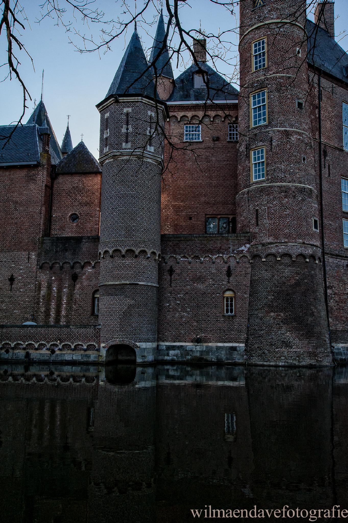 Castle Heeswijk by wilmavdHeuvel