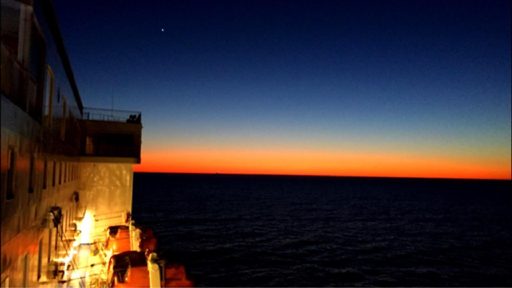 Helsinki archipelago Sunset  by Johan Meding