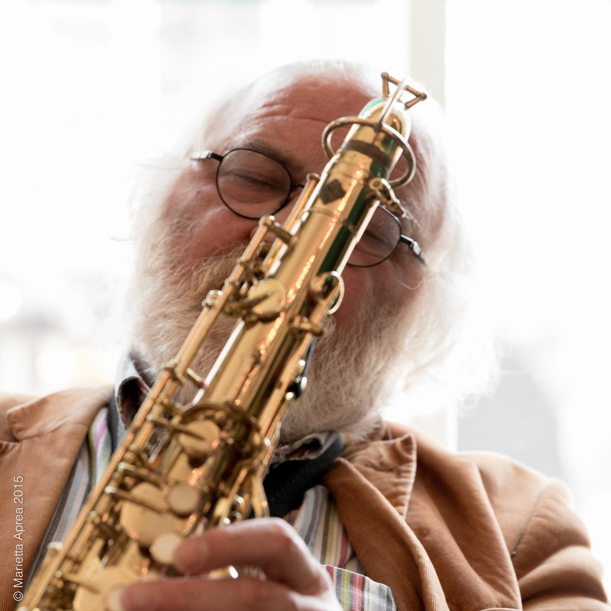 Jazz man by Marietta
