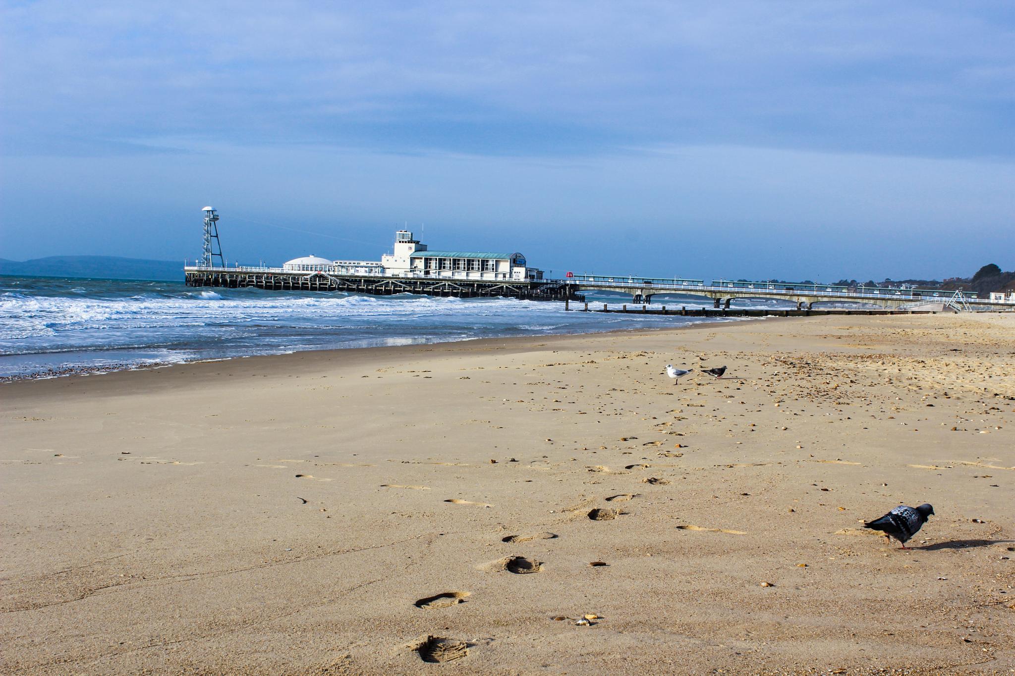 bournemouth pier by peakman