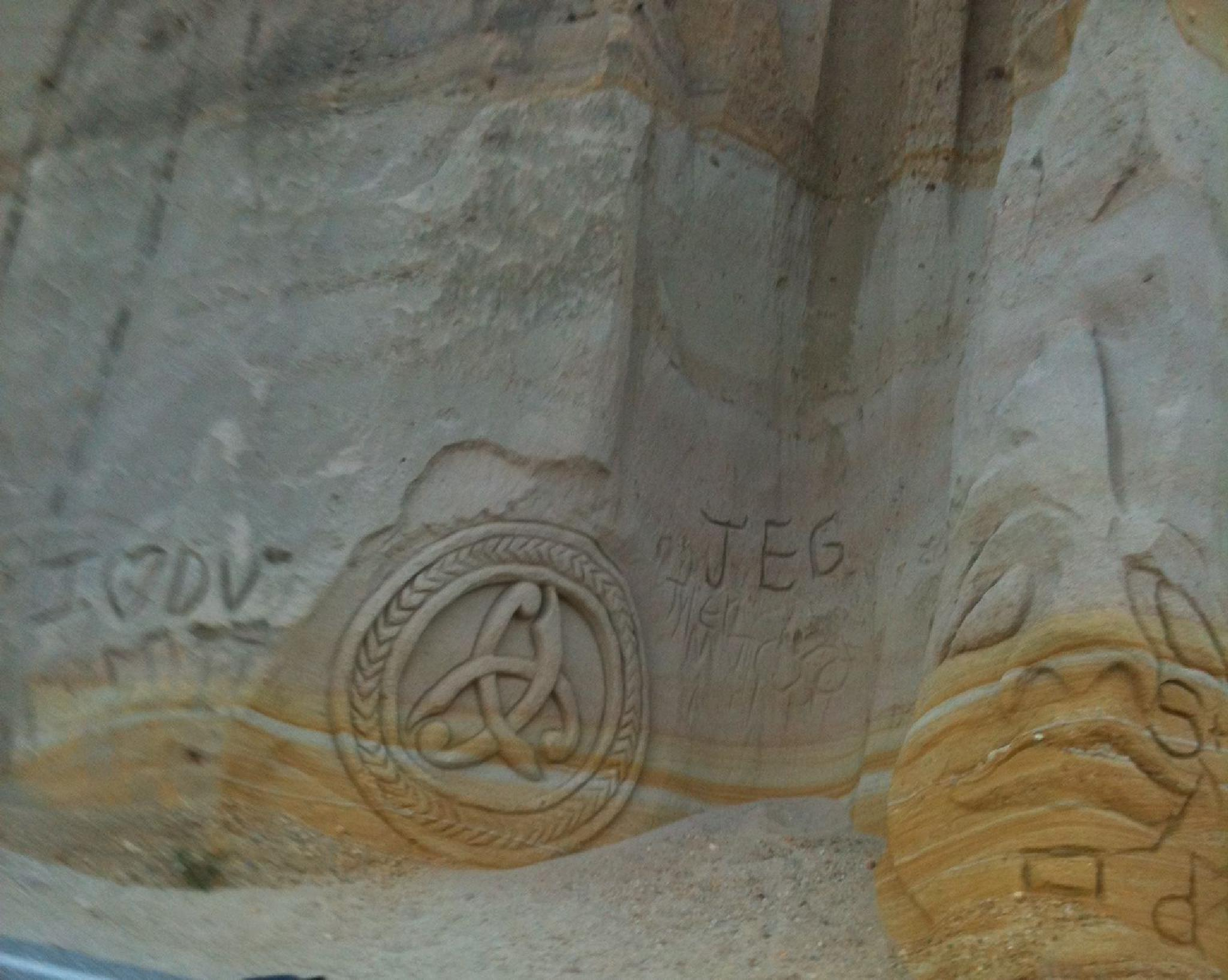 Still More Grimes Canyon Sandstone Carvings by metalhaid