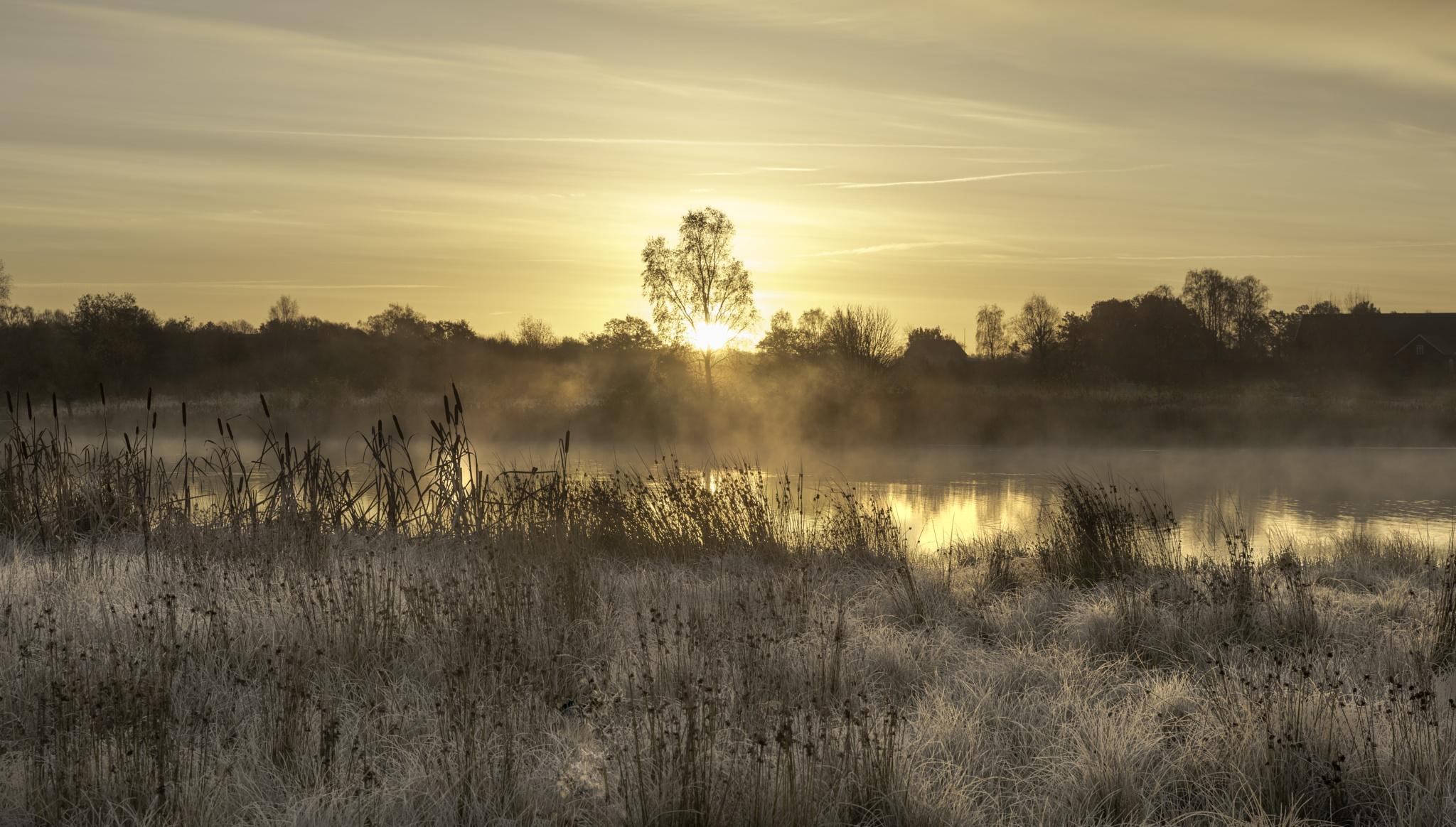 A cold sunrise by kapten.sjoskum