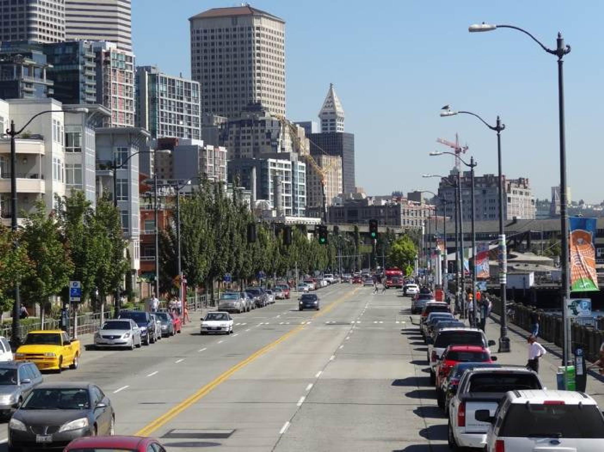 Seattle, Washington, USA by riddelljane
