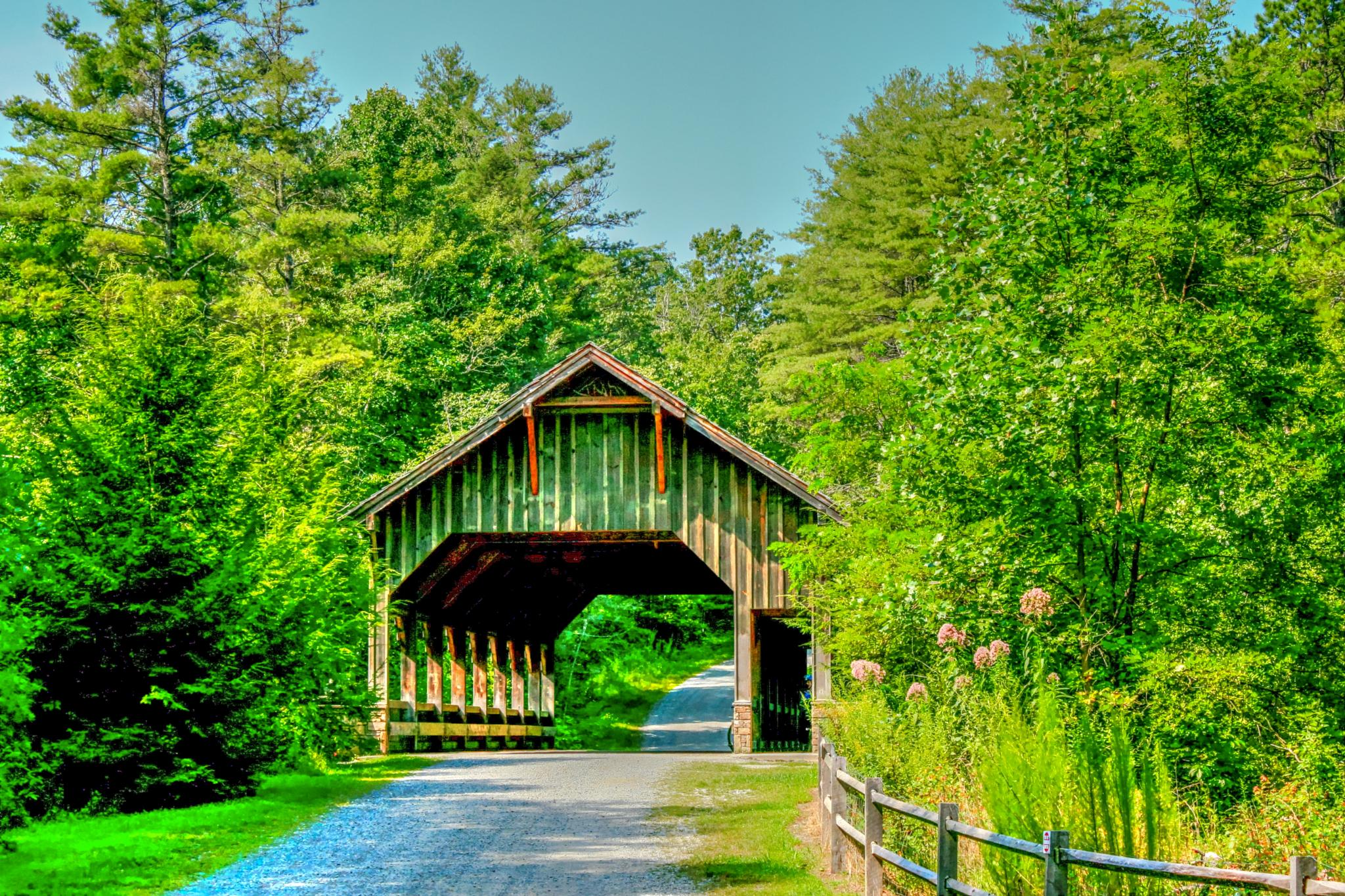Covered Bridge by PovPhotographicArt