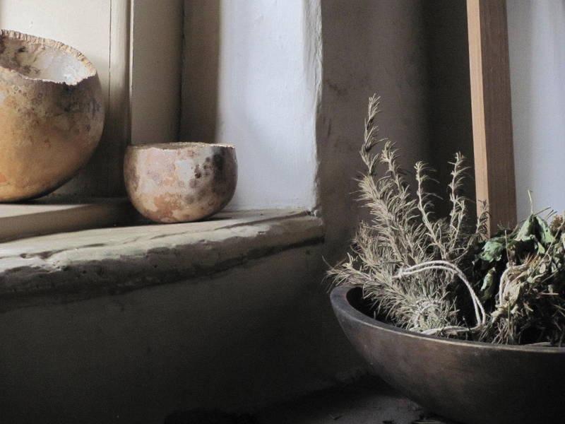 Old Salem still life by Ulrike Schorn-Hoffert