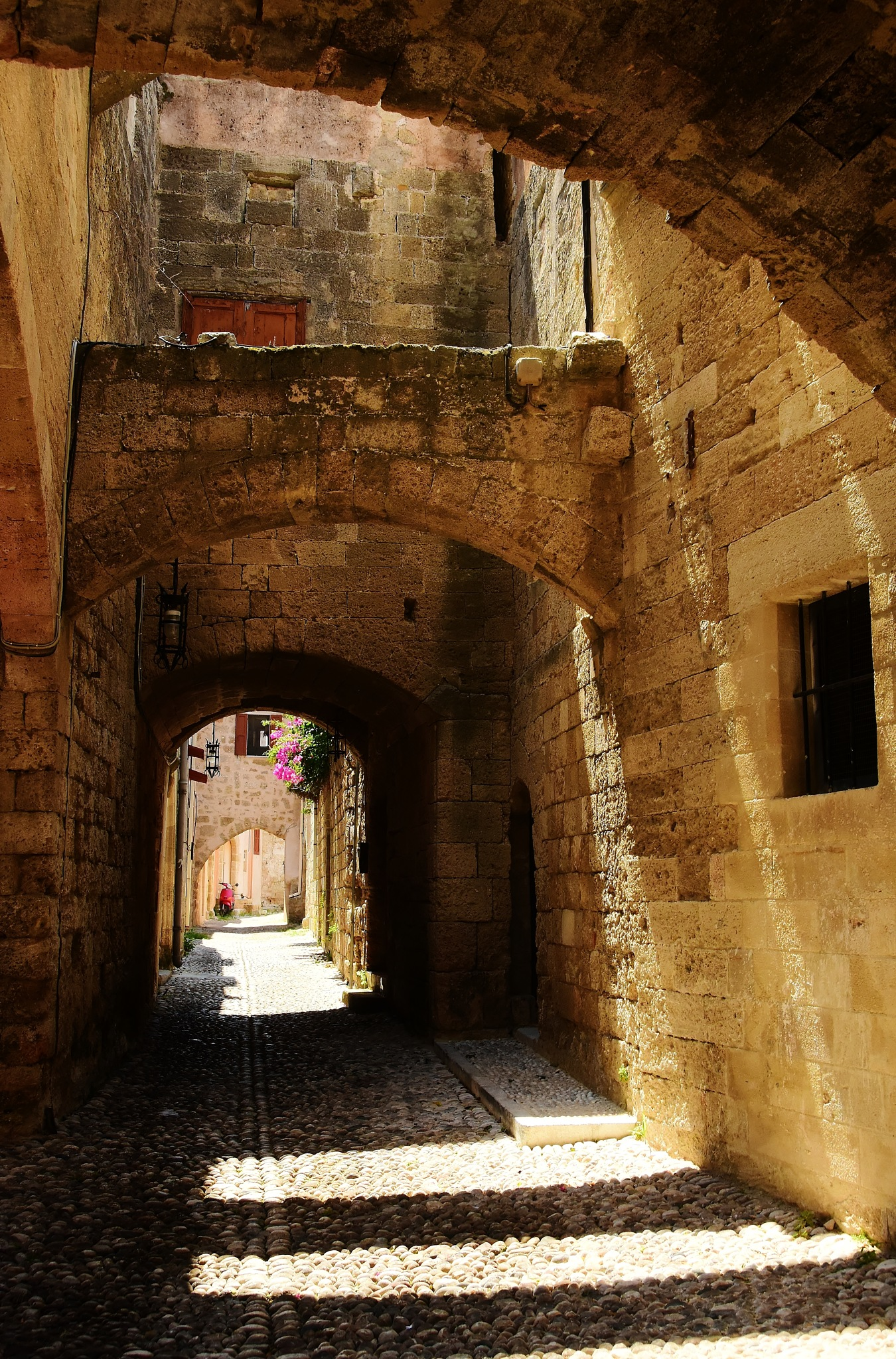 Shadows and Arches of Rhodes by andy.morrow.photos