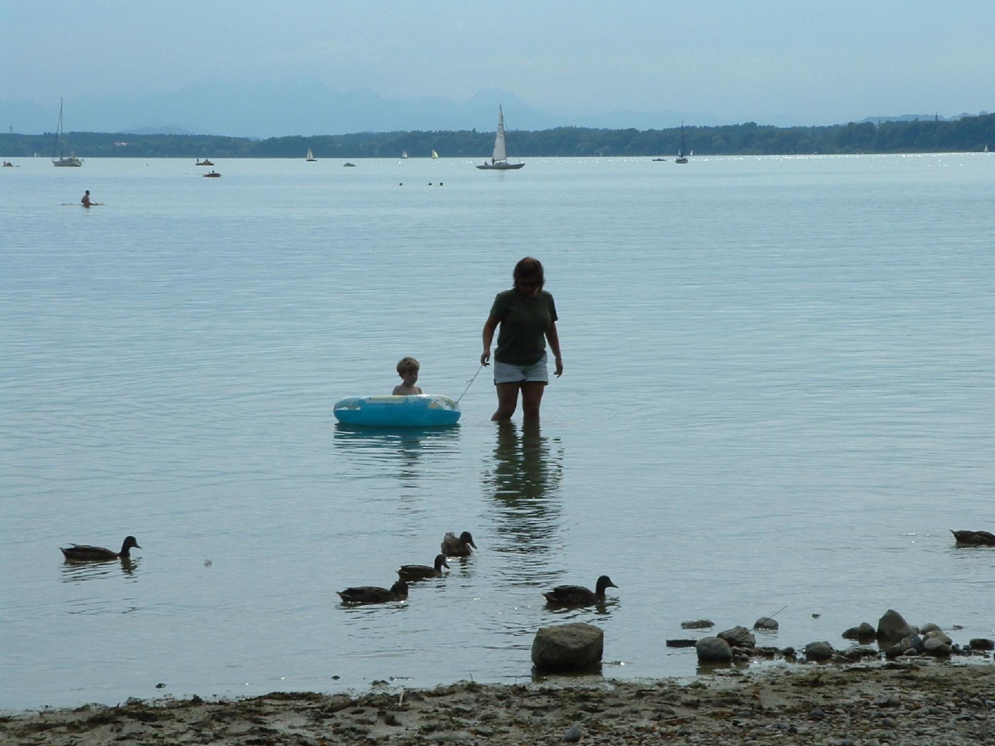 Boating on Chiemsee by andy.morrow.315