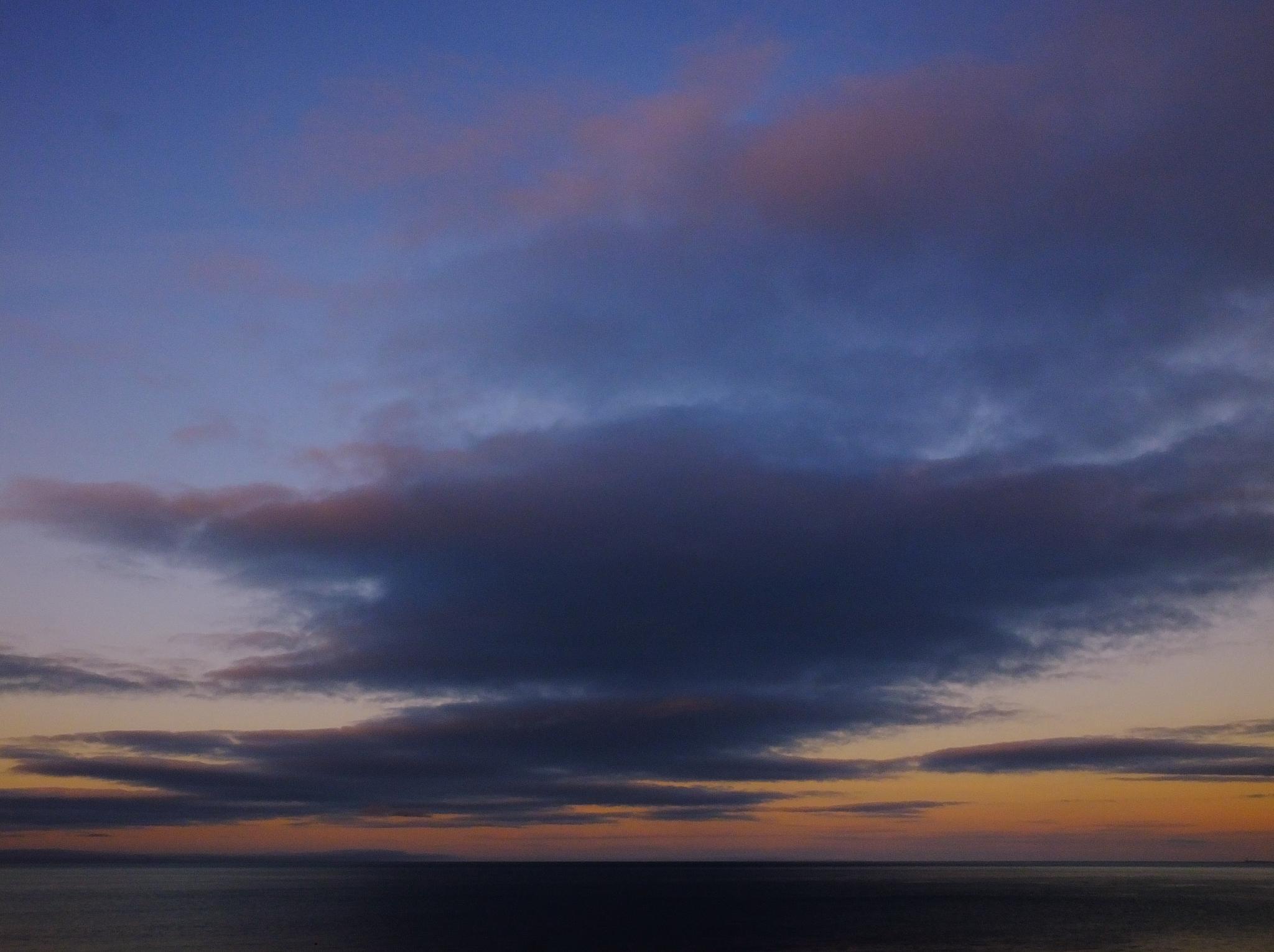 Calm Irish Sea at Dusk by andy.morrow.315