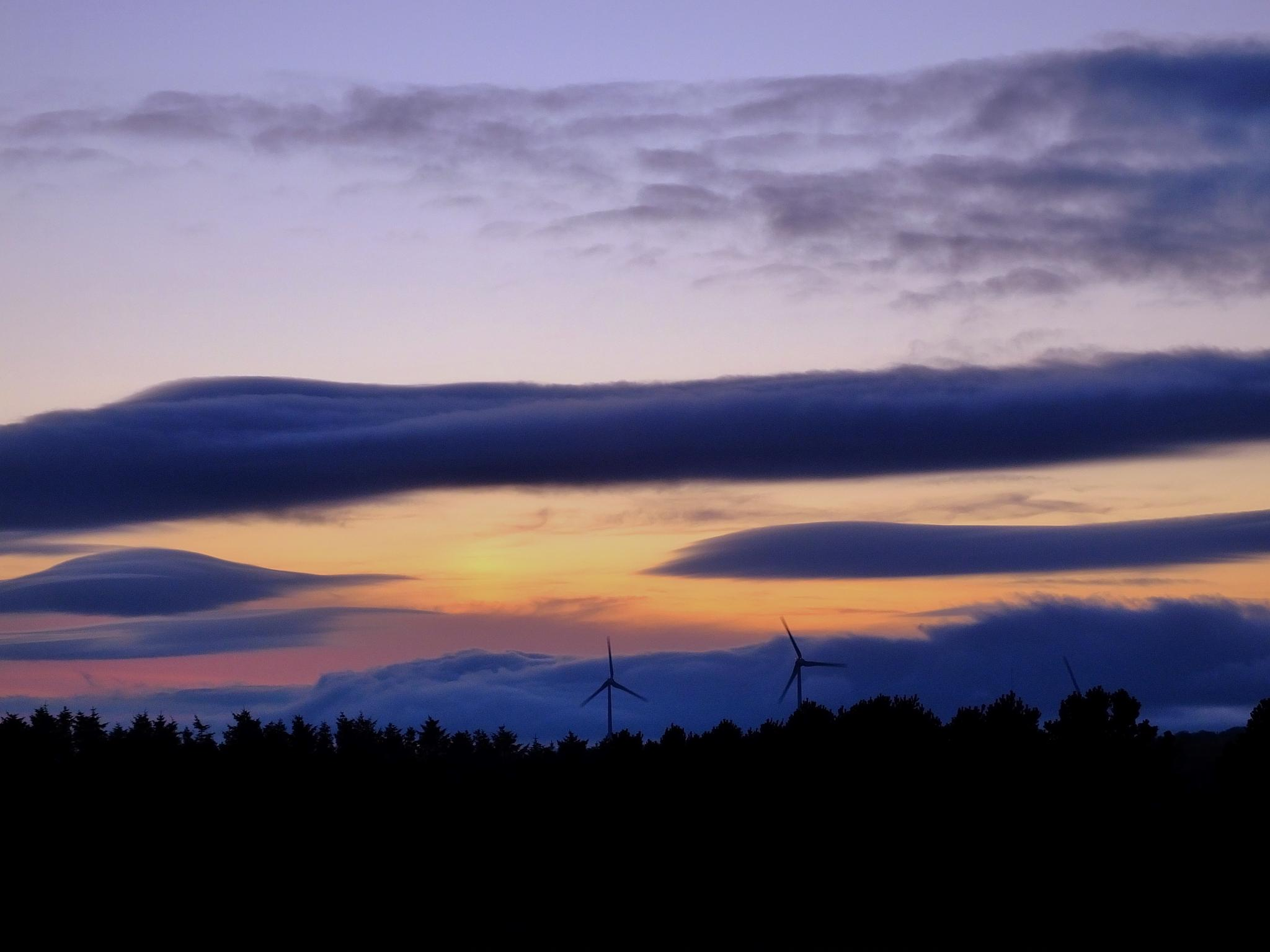 Windmill Sunset by andy.morrow.315