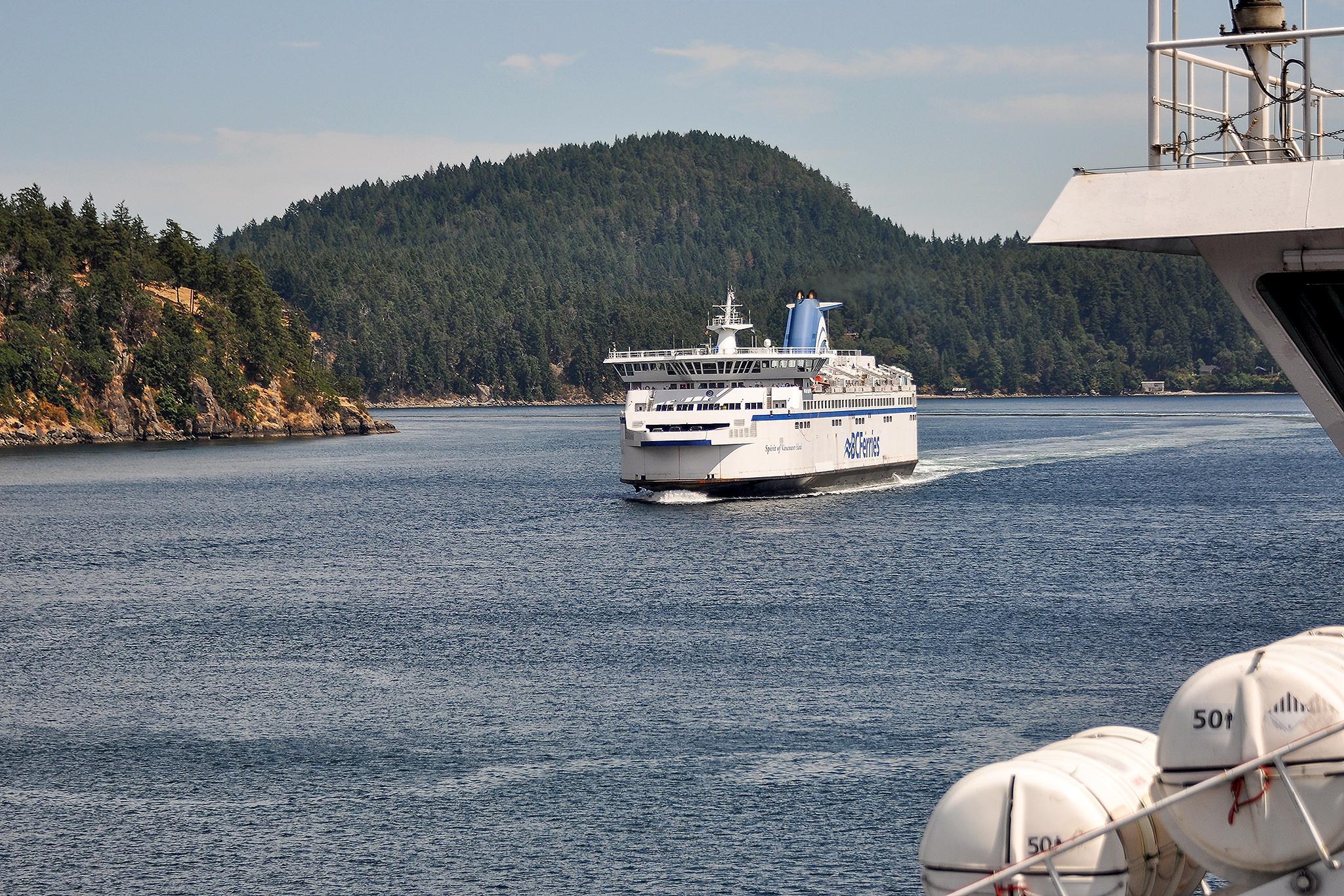 Ferries meet  by Kjell Lundqvist