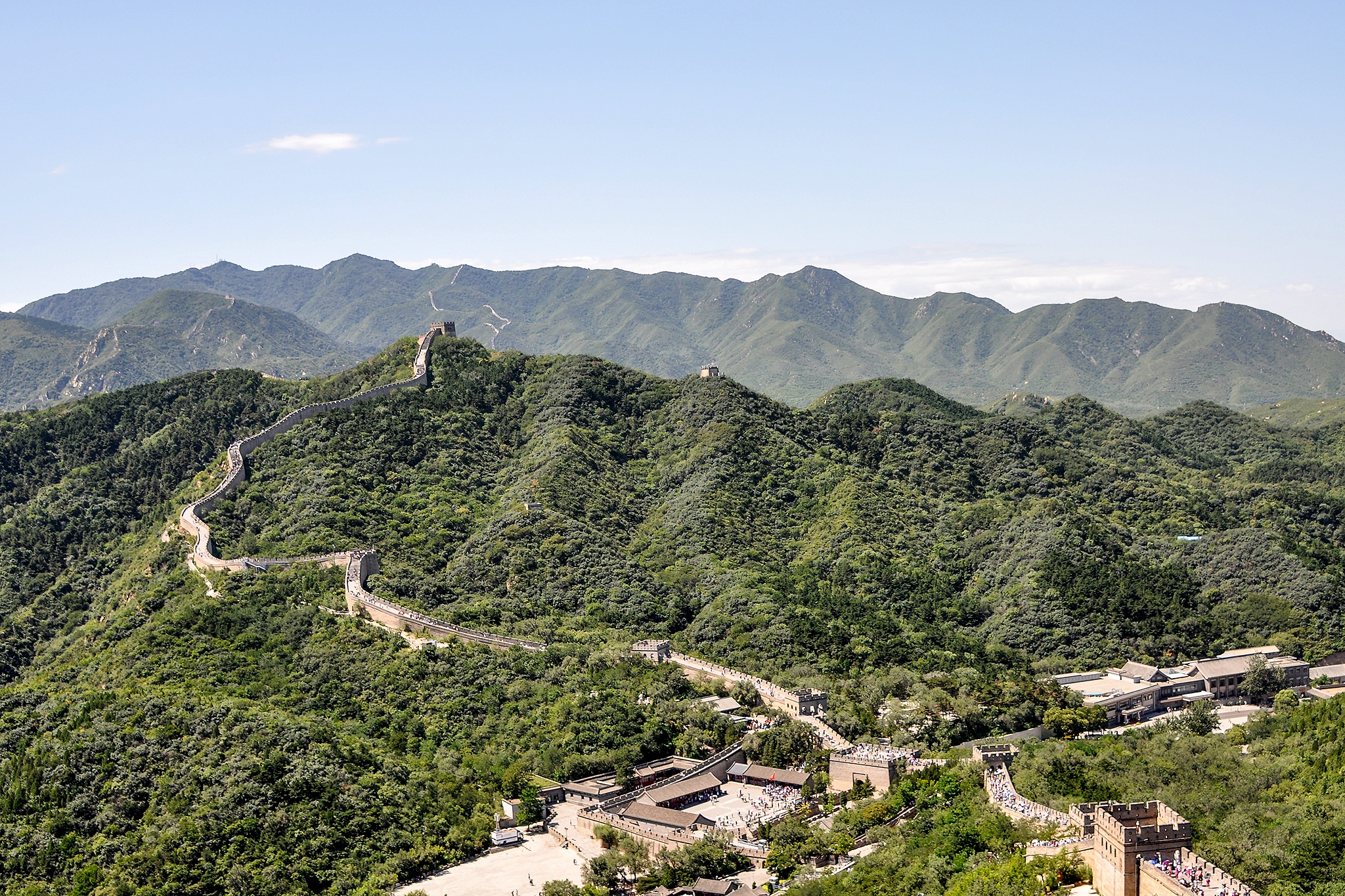 Great Wall of China  by Kjell Lundqvist